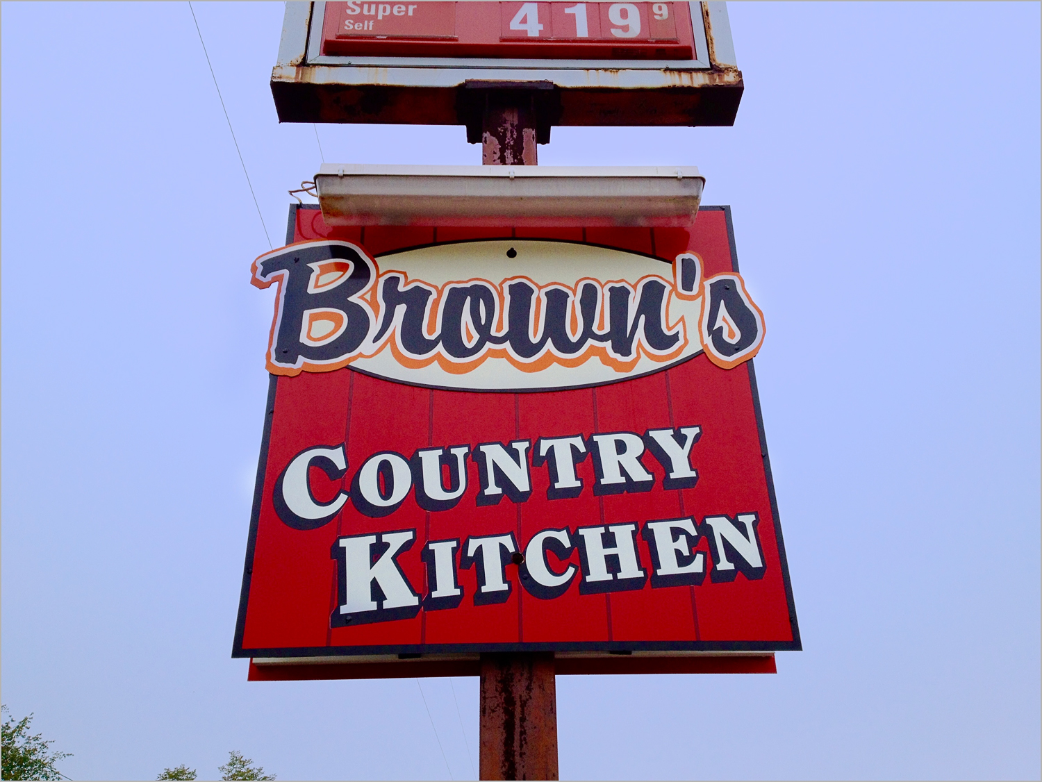 Brown's Country Kitchen, the place to eat in Portersville, PA