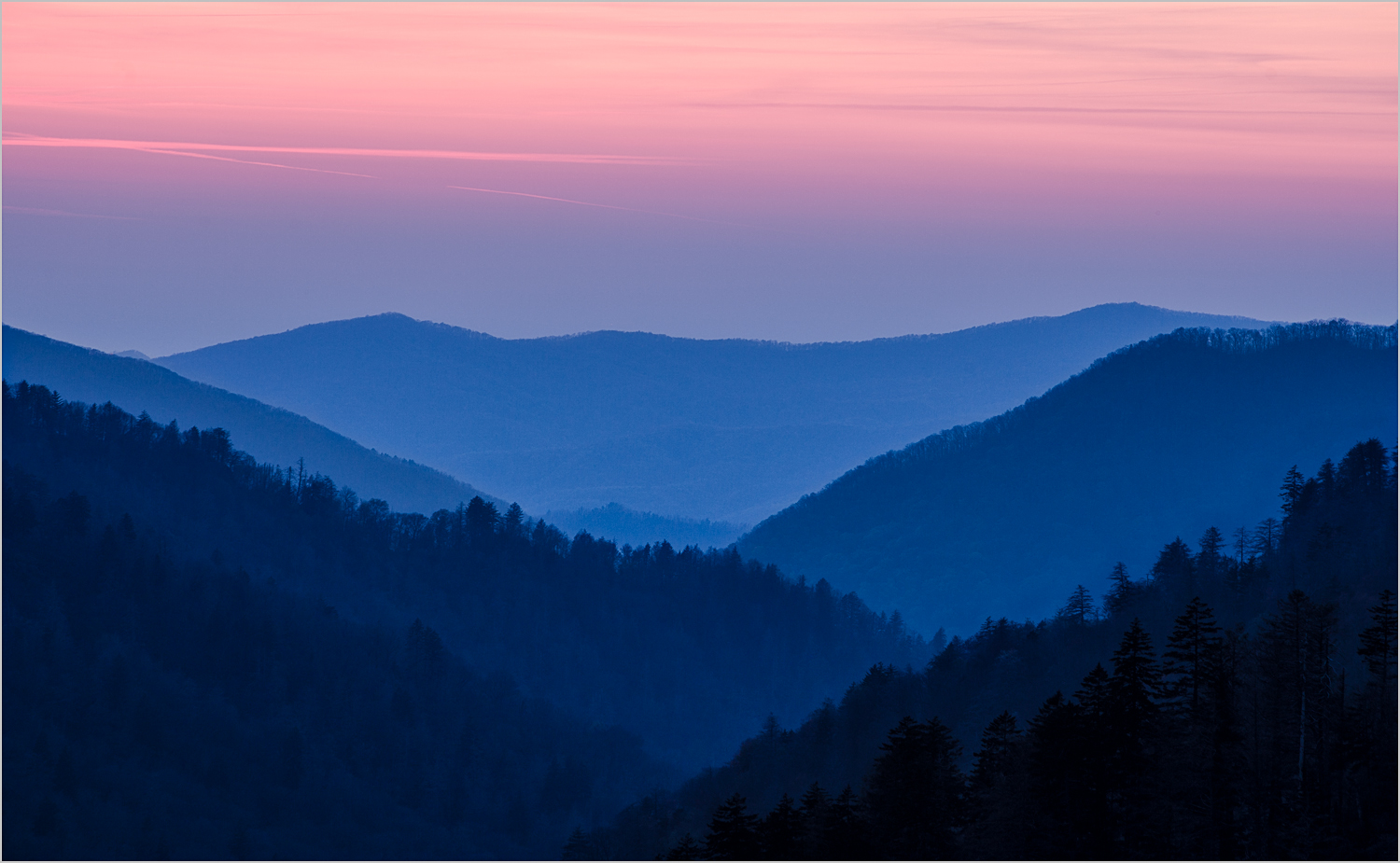 Morton's Overlook, Smoky Mountains National Park   © Howard GRill