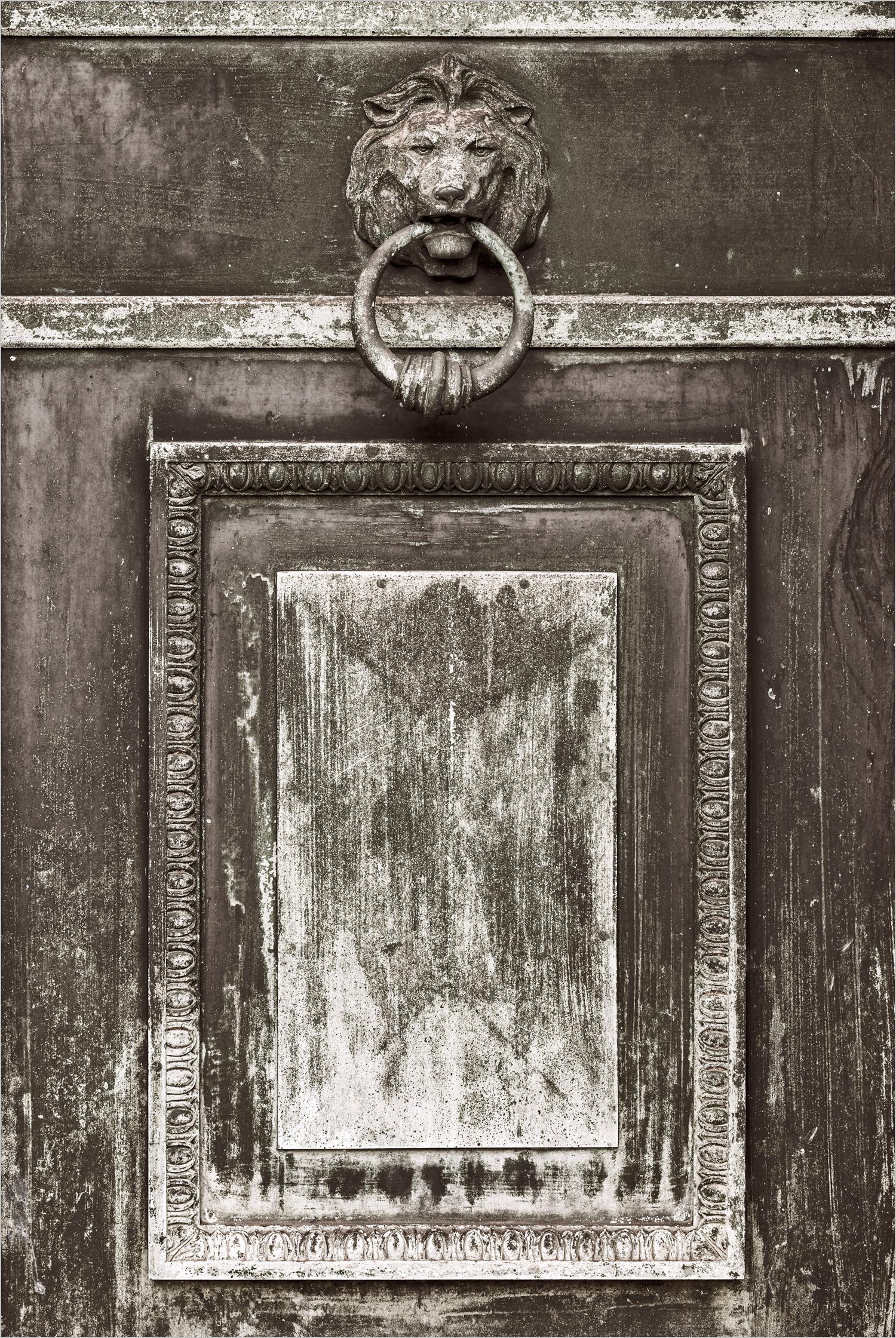 Mausoleum Door