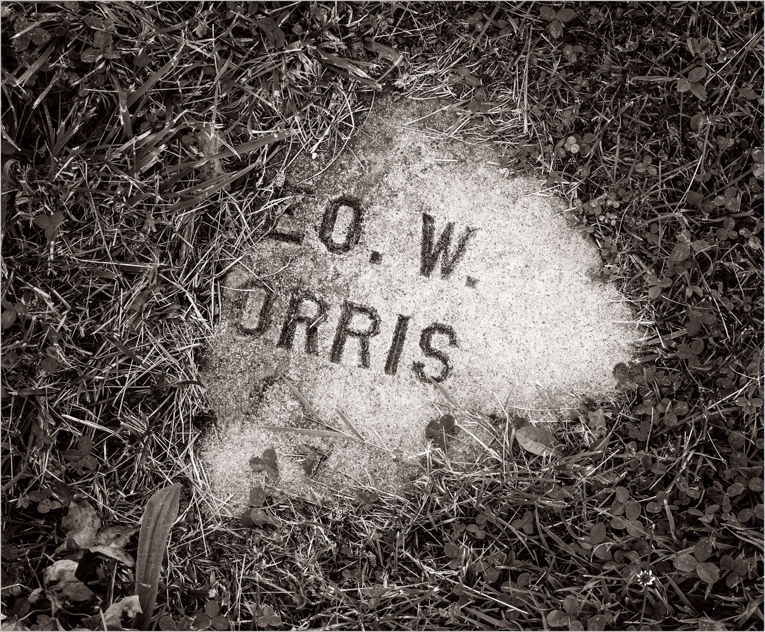 Forgotten II, Homewood Cemetery, Pittsburgh, PA    © Howard Grill