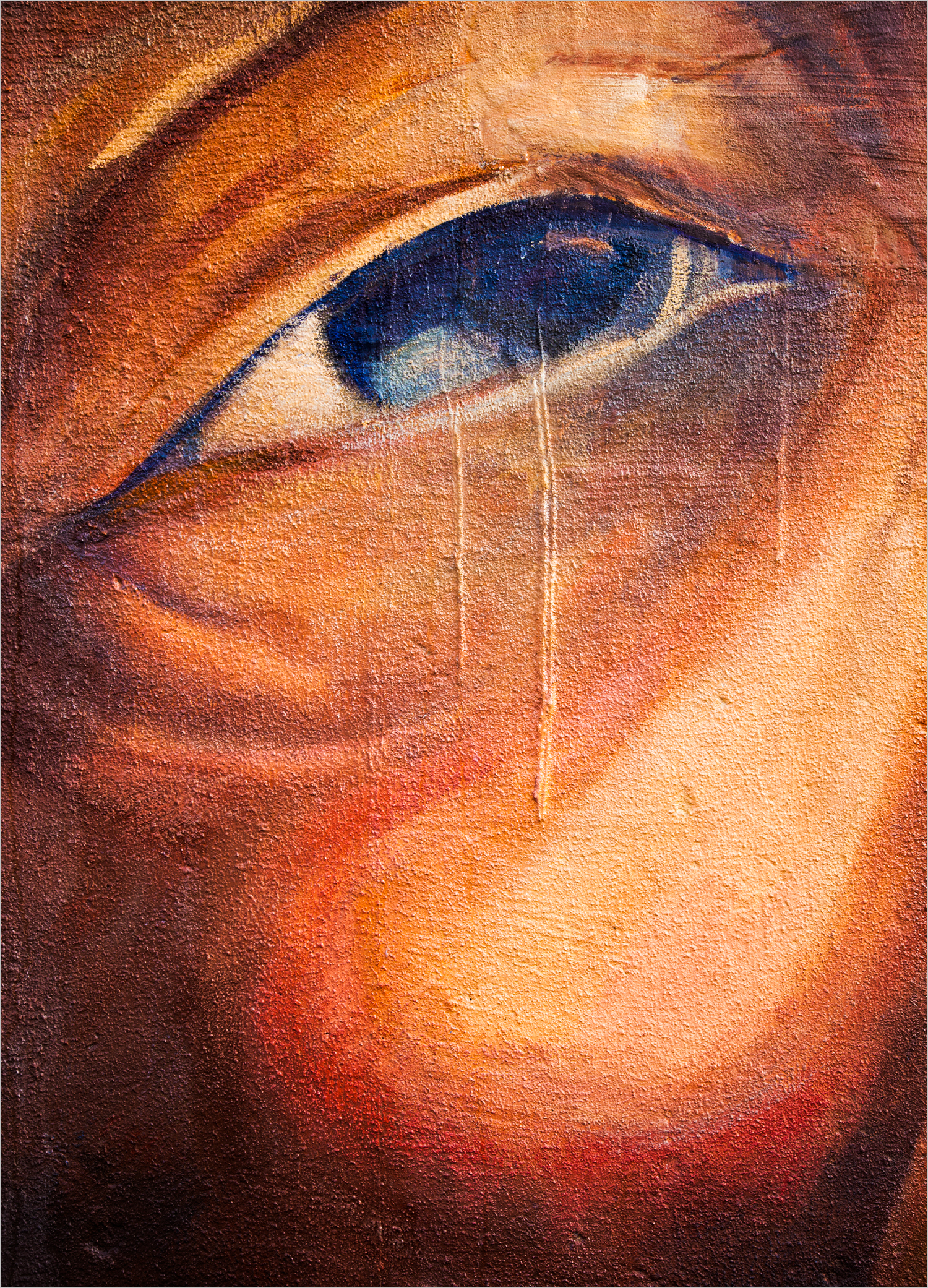 """Dry Those Cryin' Eyes""  © Howard Grill"
