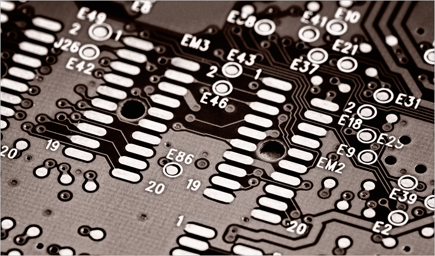 Circuit Board    © Howard Grill