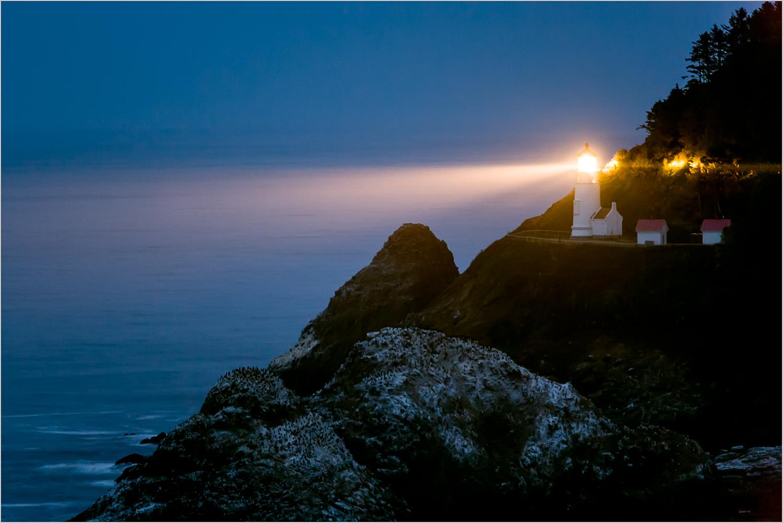 Heceta Head Lighthouse  © Howard Grill