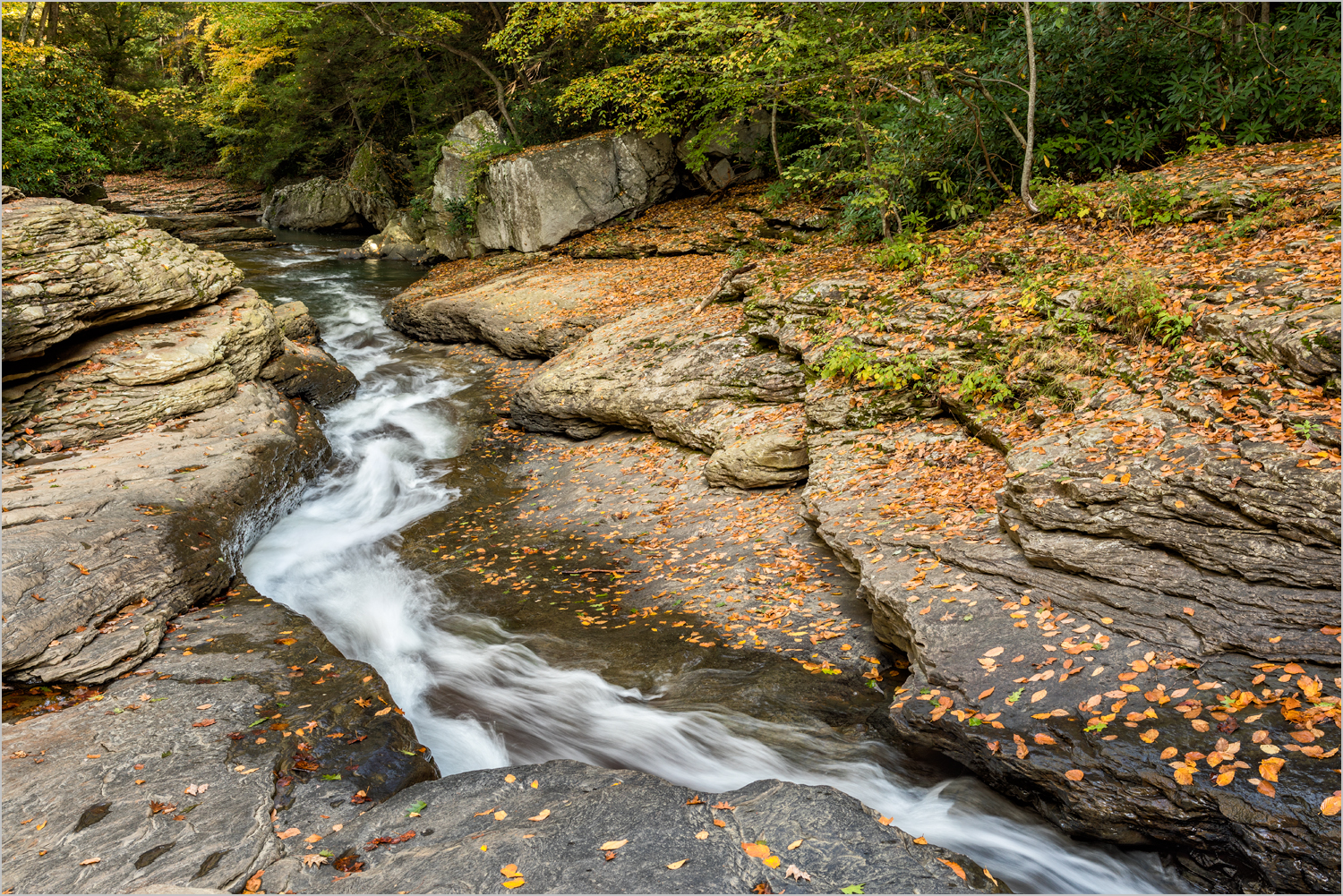 The Flume At Ohiopyle    © Howard Grill