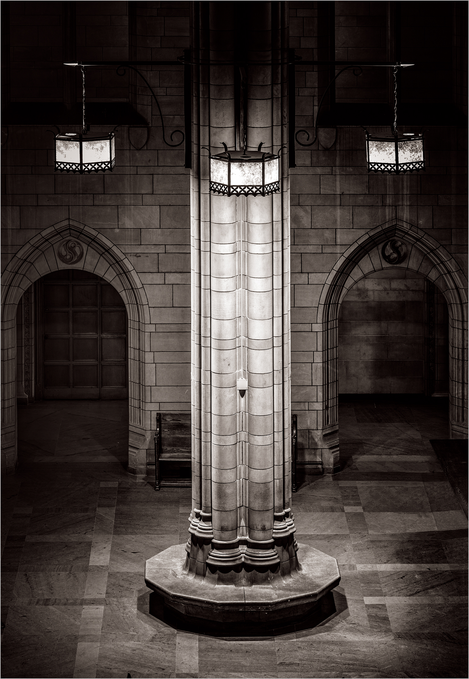 Inside The Cathedral Of Learning © Howard Grill