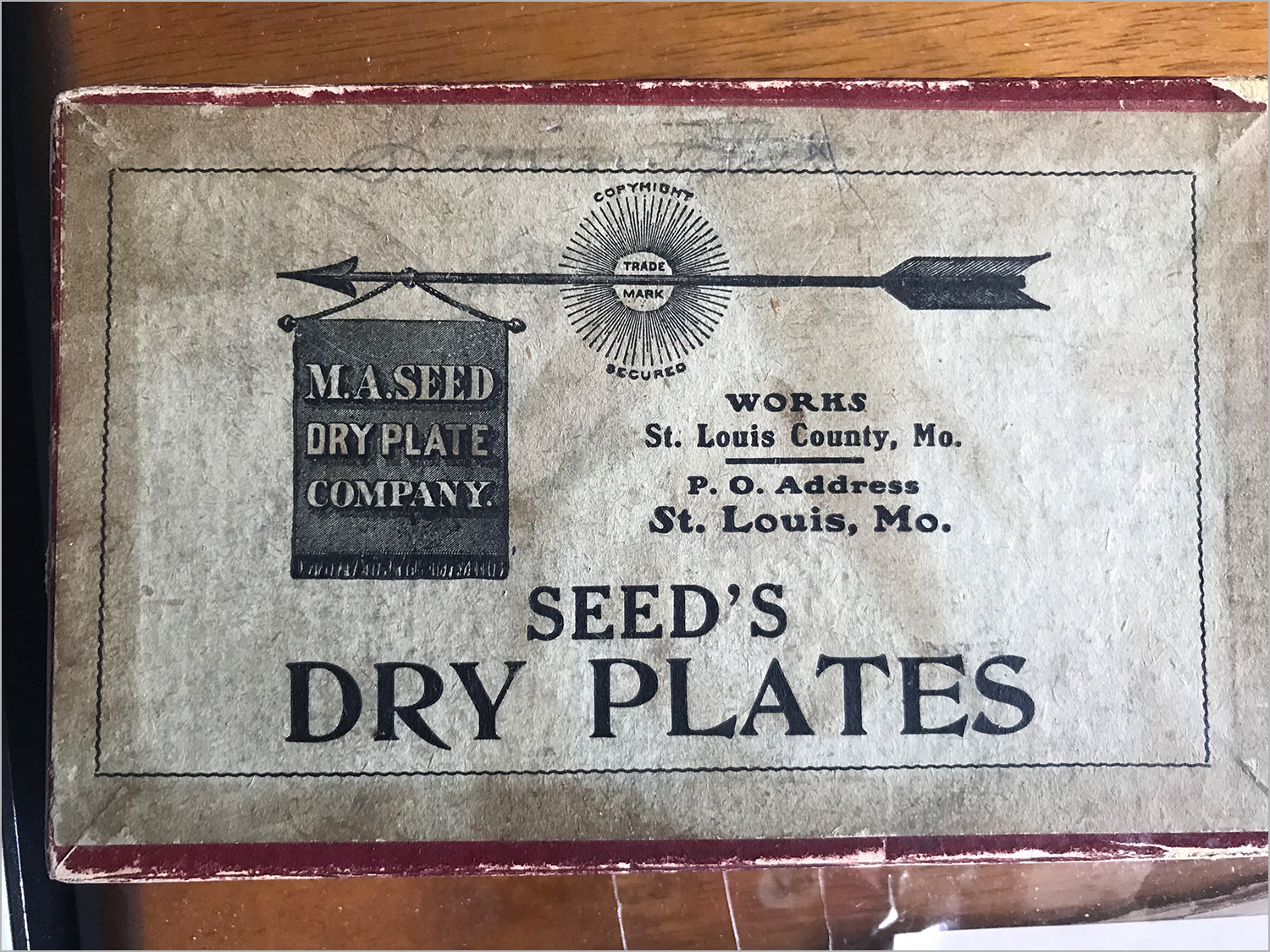 Seeds Dry Plates - The Company Was Founded In 1883