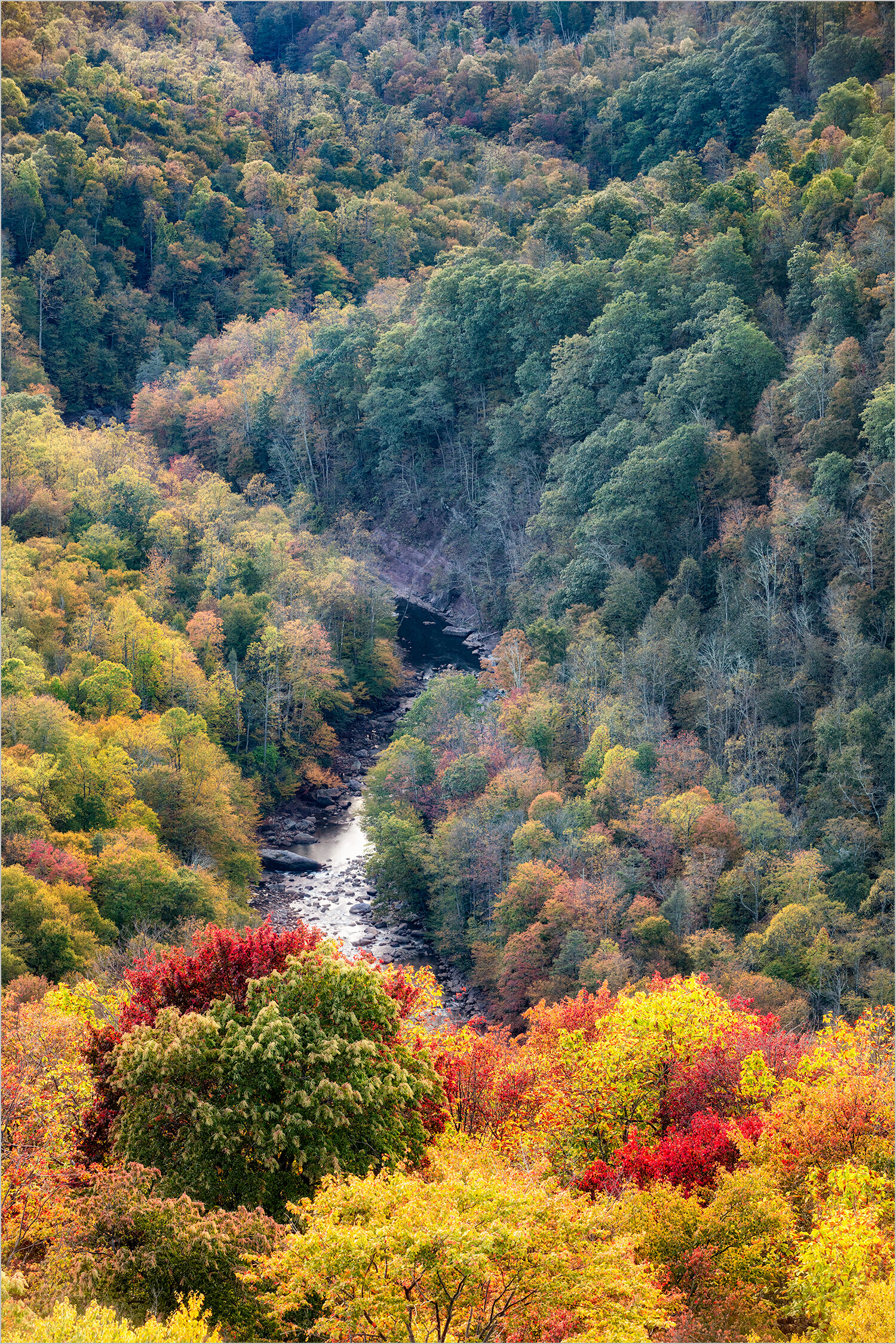 Lindy Point Overlook In Fall © Howard Grill