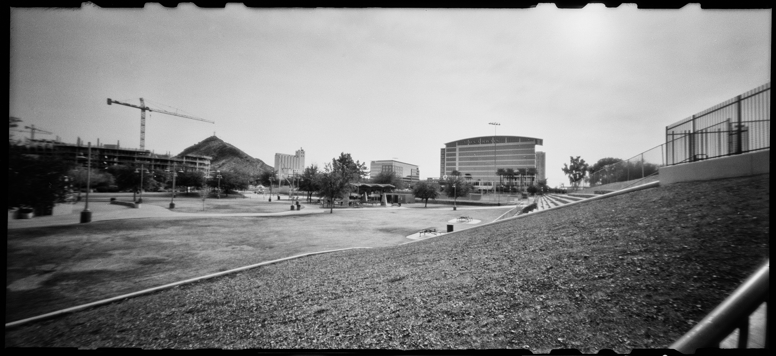The Crane...The Park...Progress!