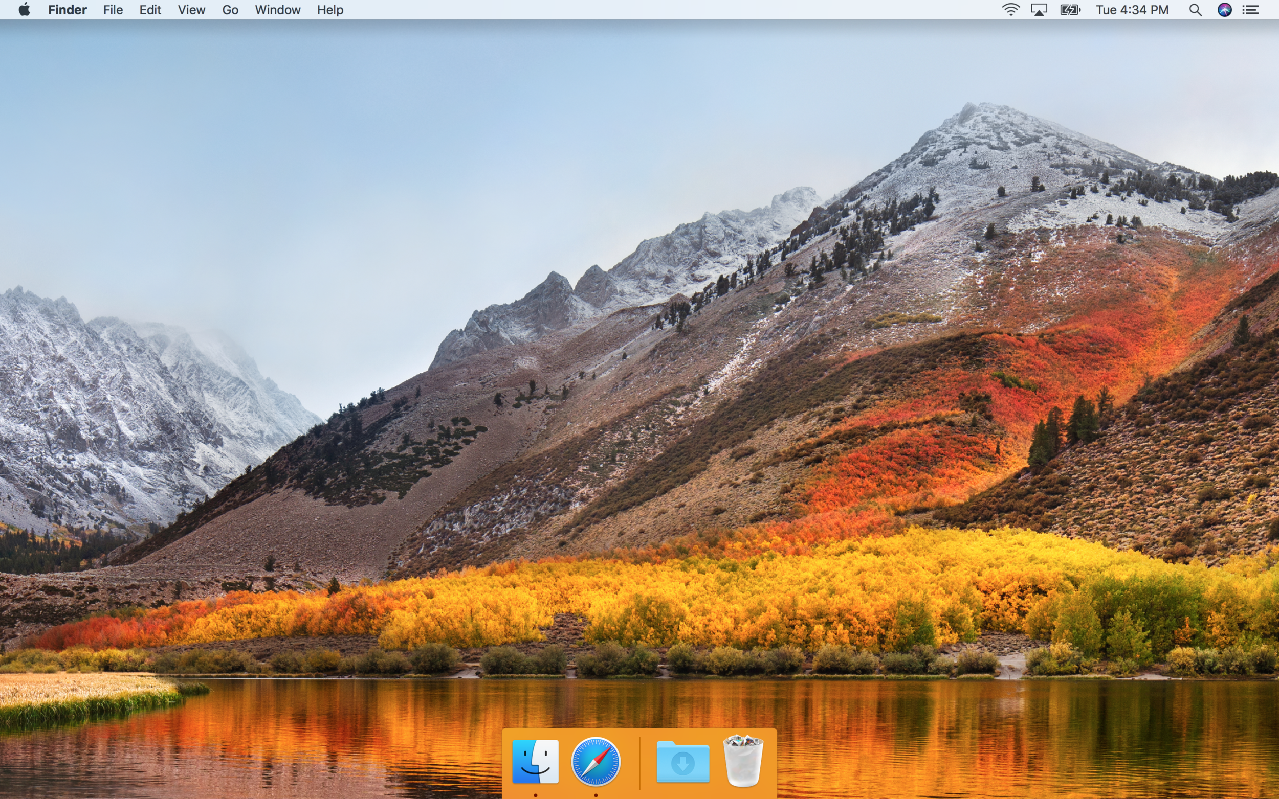 When you remove everything from your Dock, you can always see exactly what Apps are open.