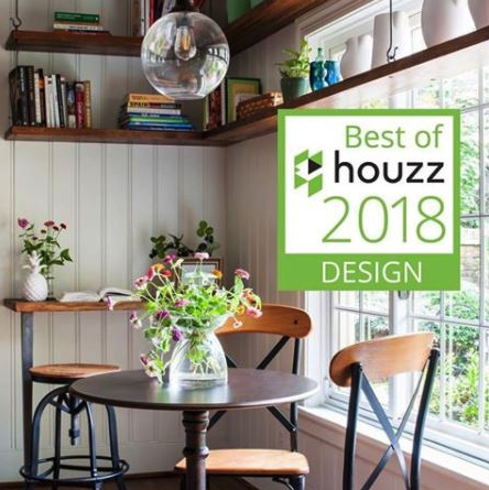 Recently featured in Richmond Home Magazine, this renovation creates a cozy, inviting, modern bistro kitchen by re-purposing the existing materials and cabinetry.  Collaboration with the Homeowners, Chopper Dawson Construction and Melissa Mathe Interior Design