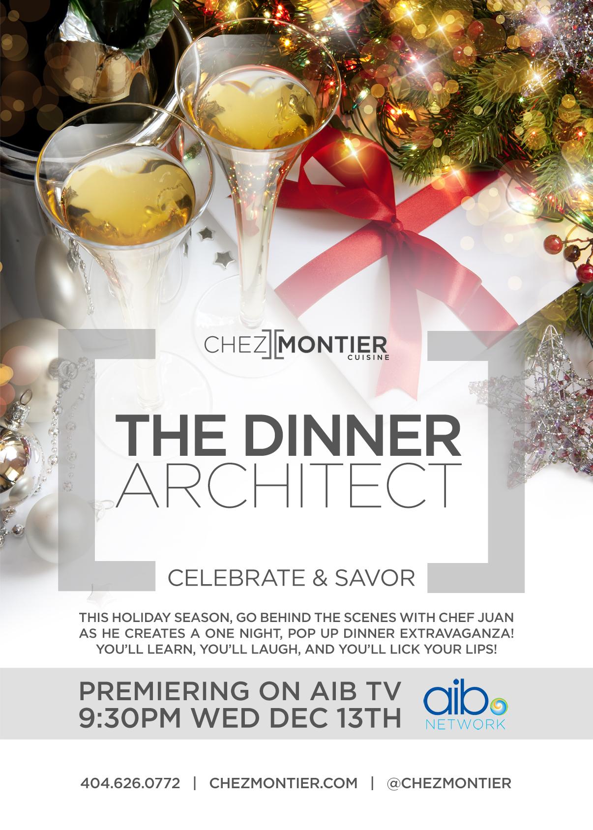 The Dinner Architect Postcard
