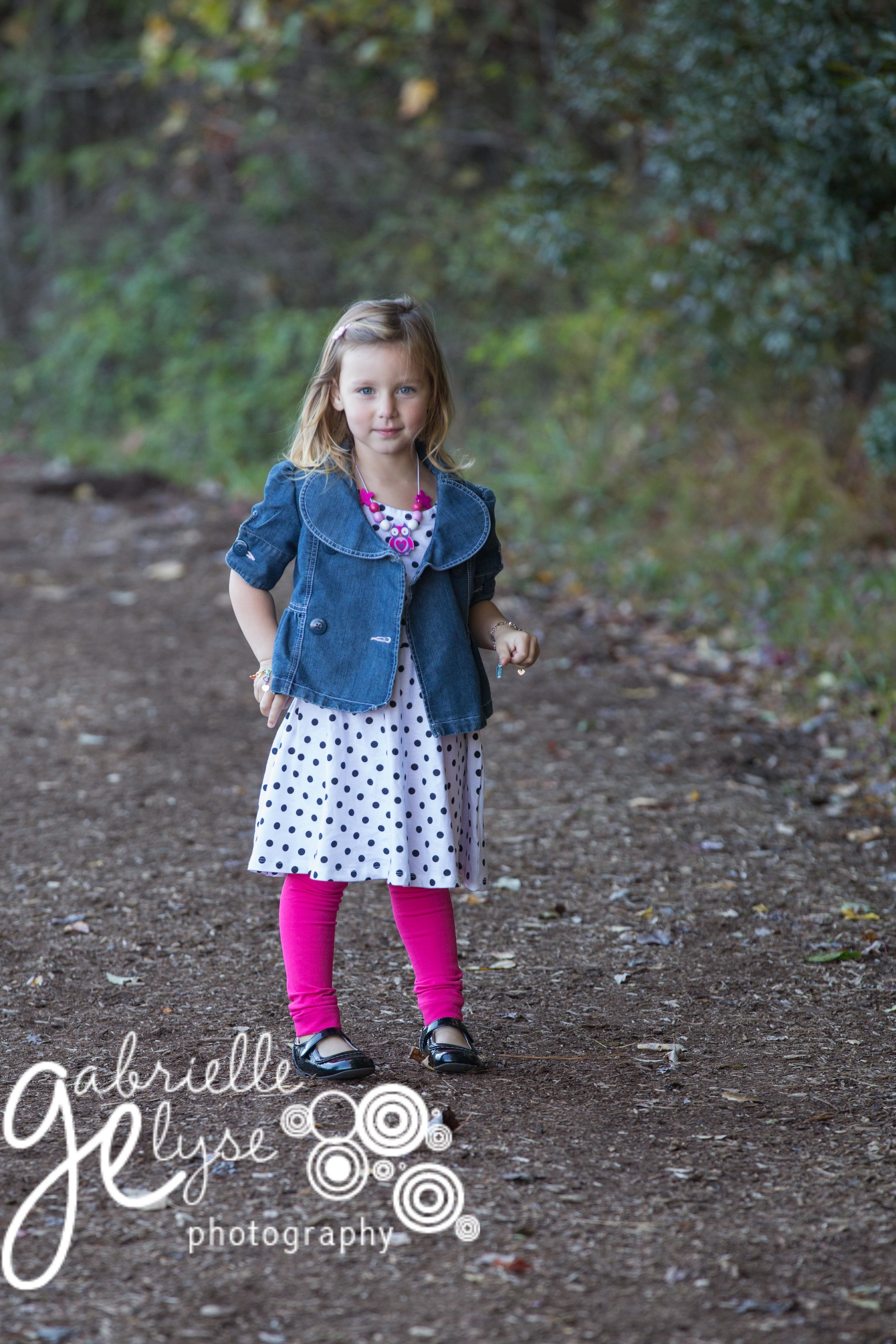 Pretty in pink Holly Springs Child Photographer