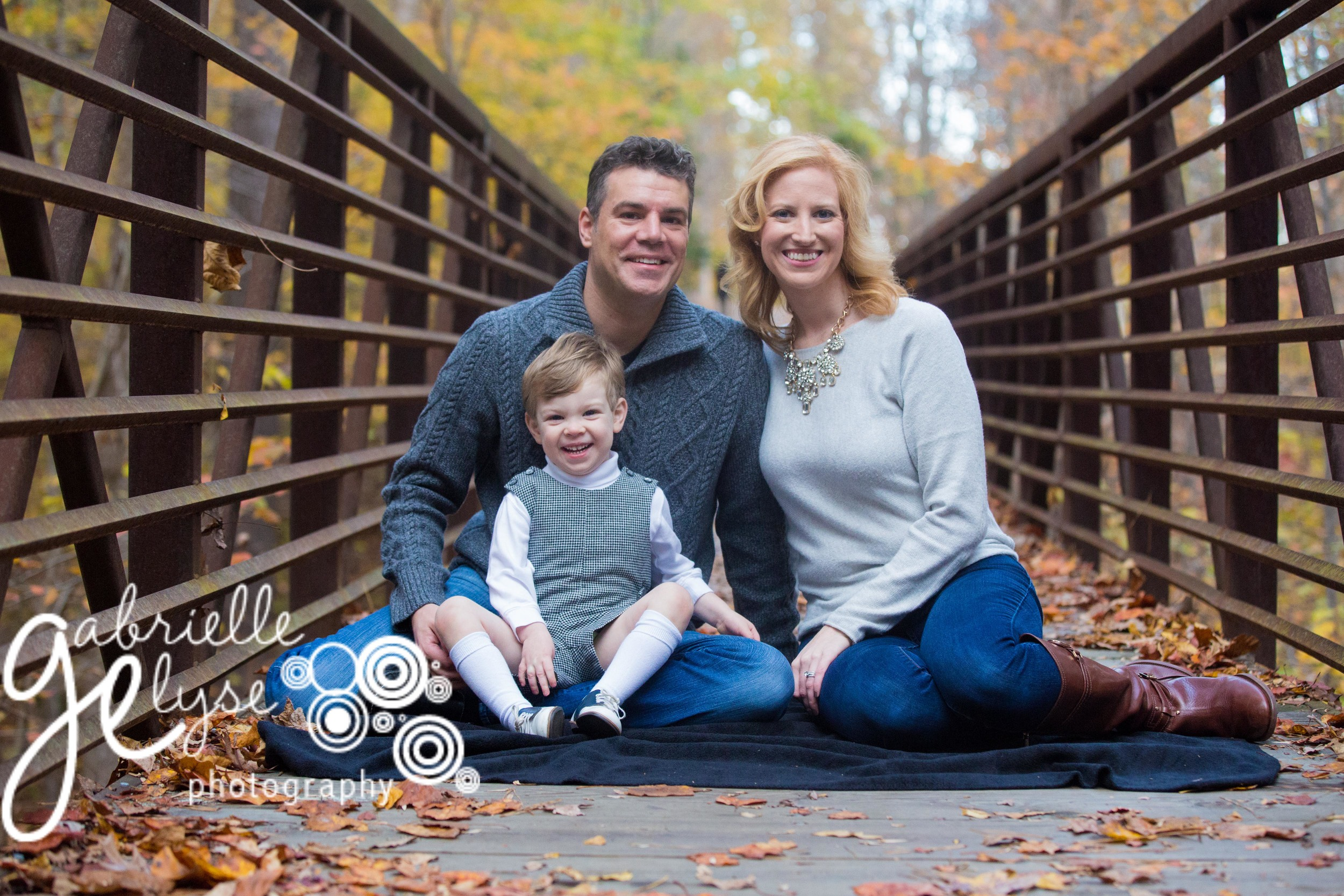 Cary Fall Holiday Photo Session