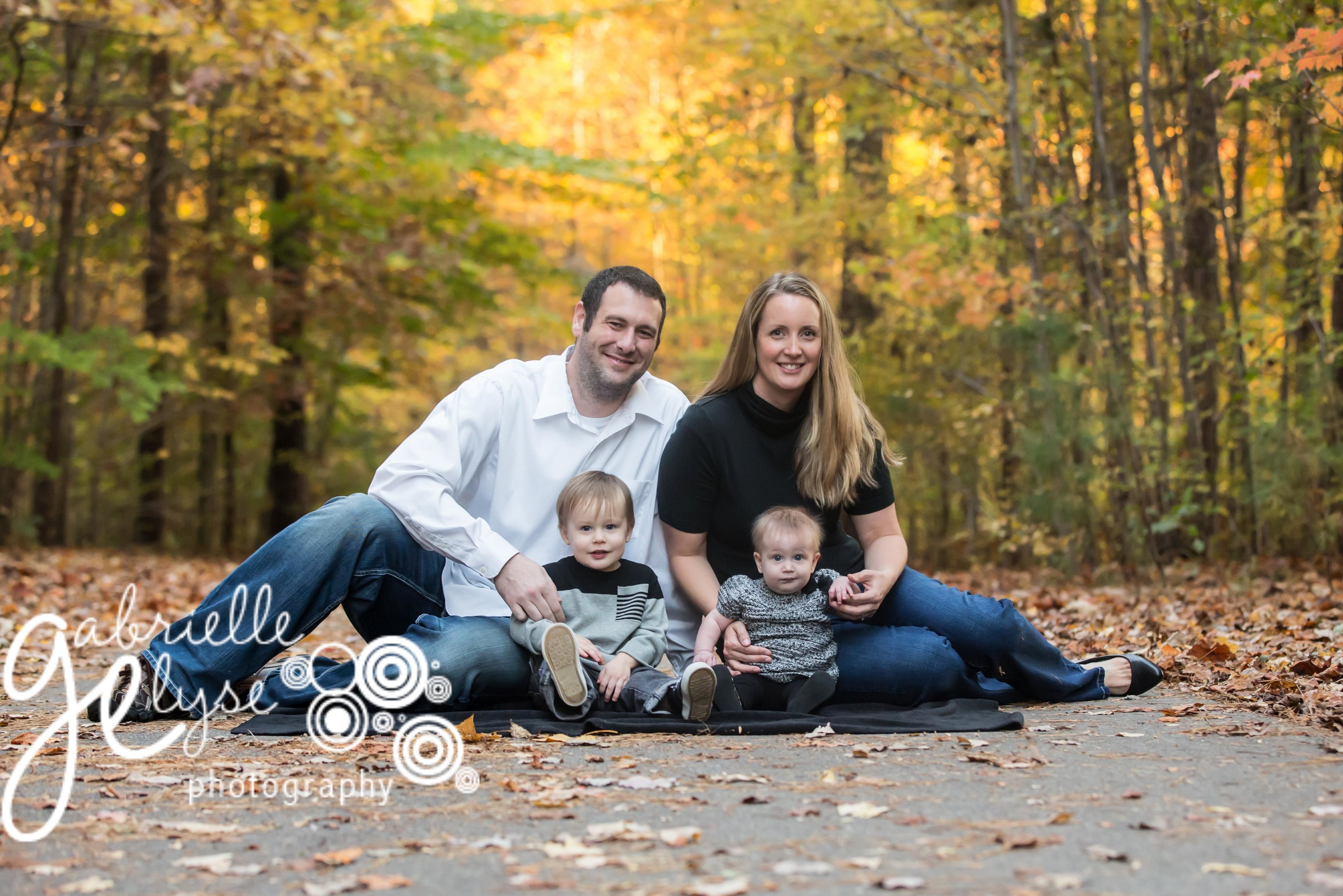 Beautiful Family with a beautiful setting of NC's breathtaking fall!