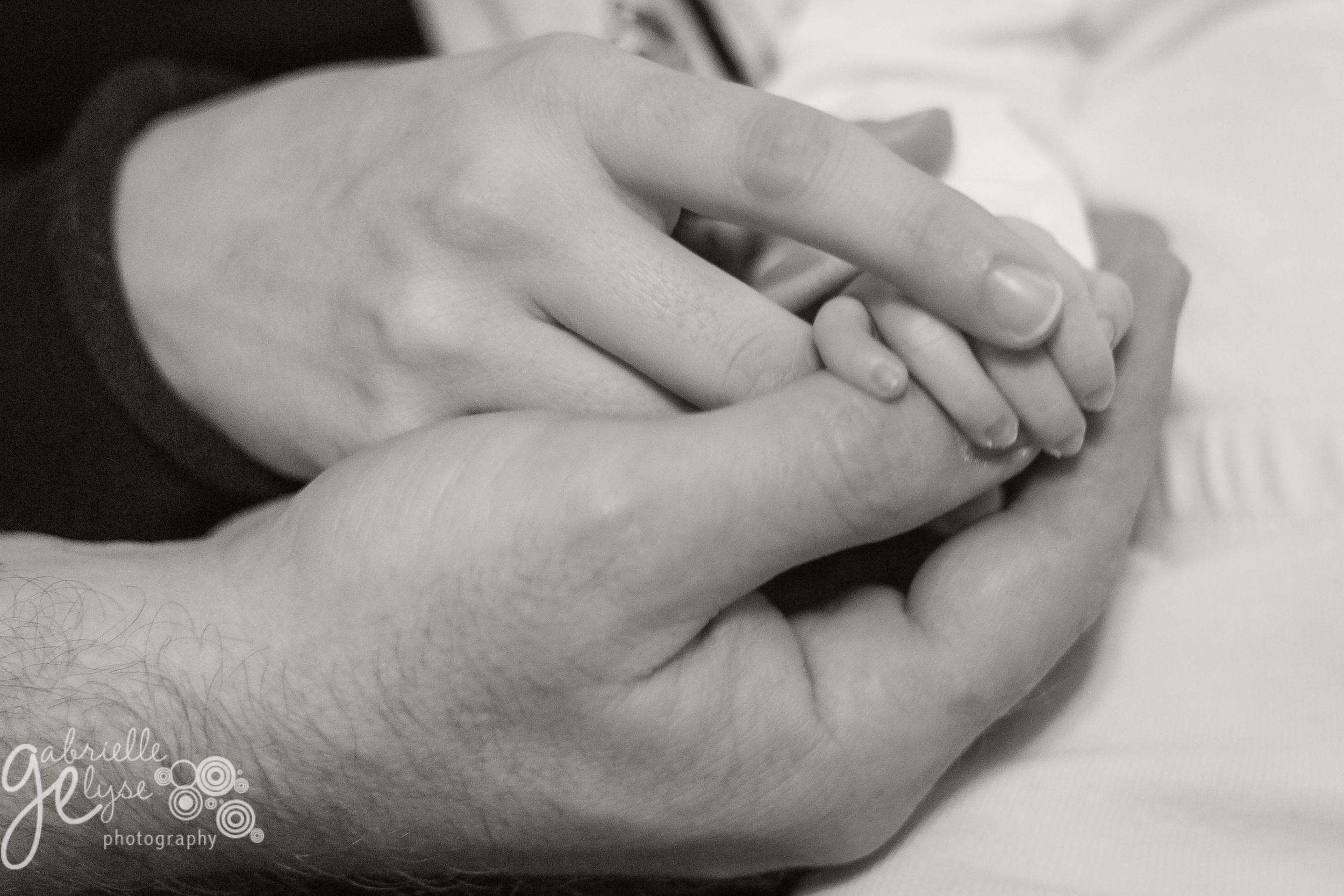 baby newborn girl hands