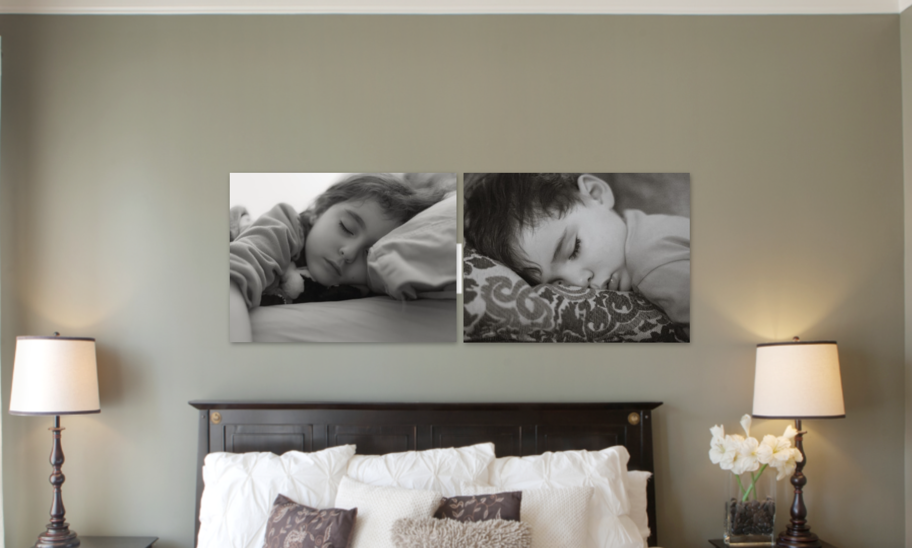 Beautiful black and white child photo images in the perfect place!