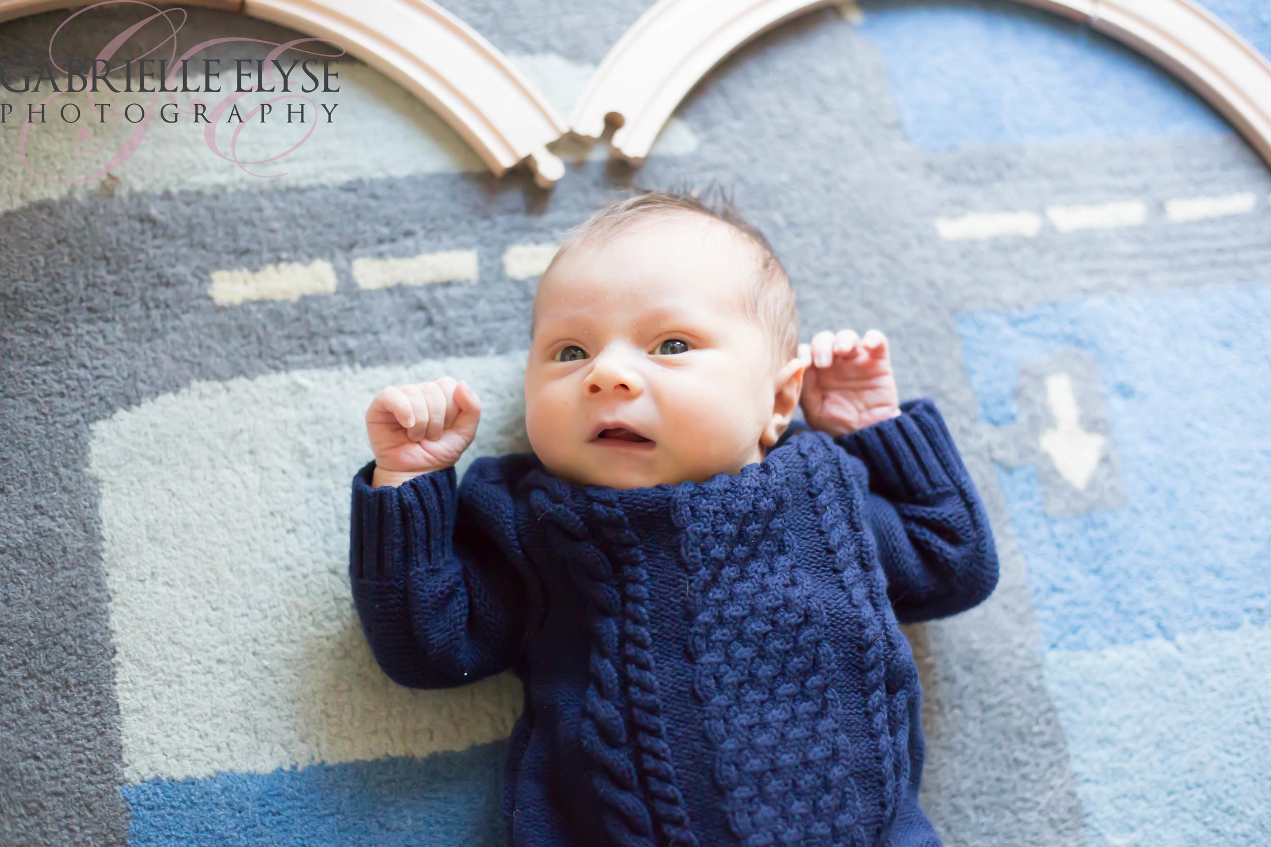 raleigh baby train tracks photo