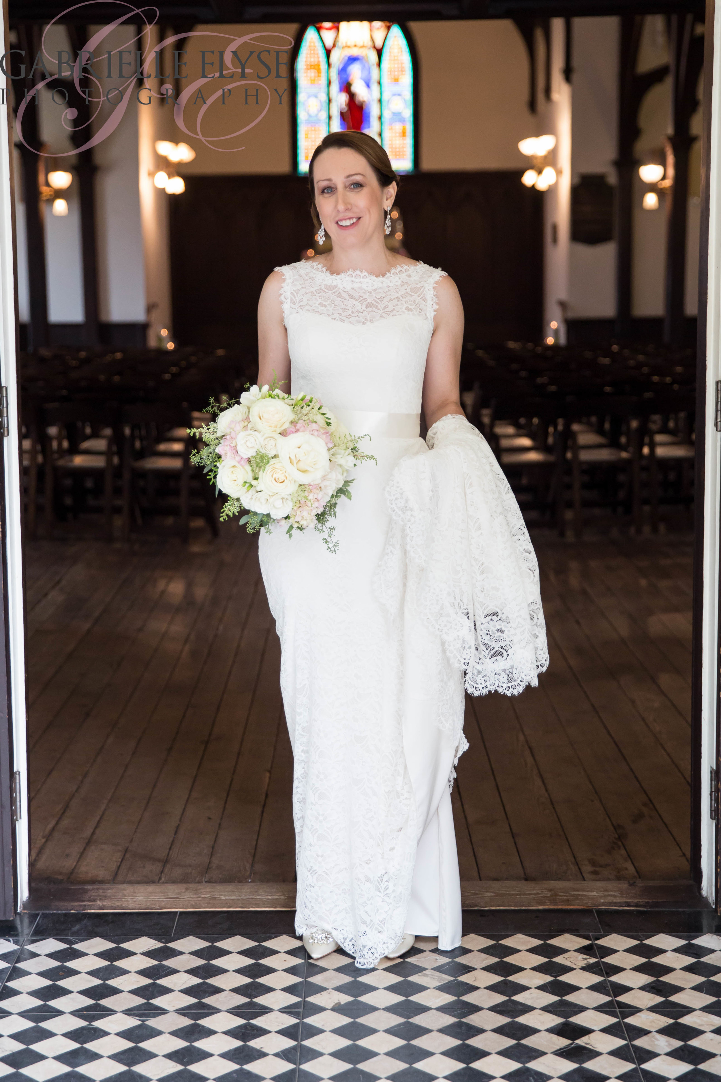 The Gorgeous Bride herself.