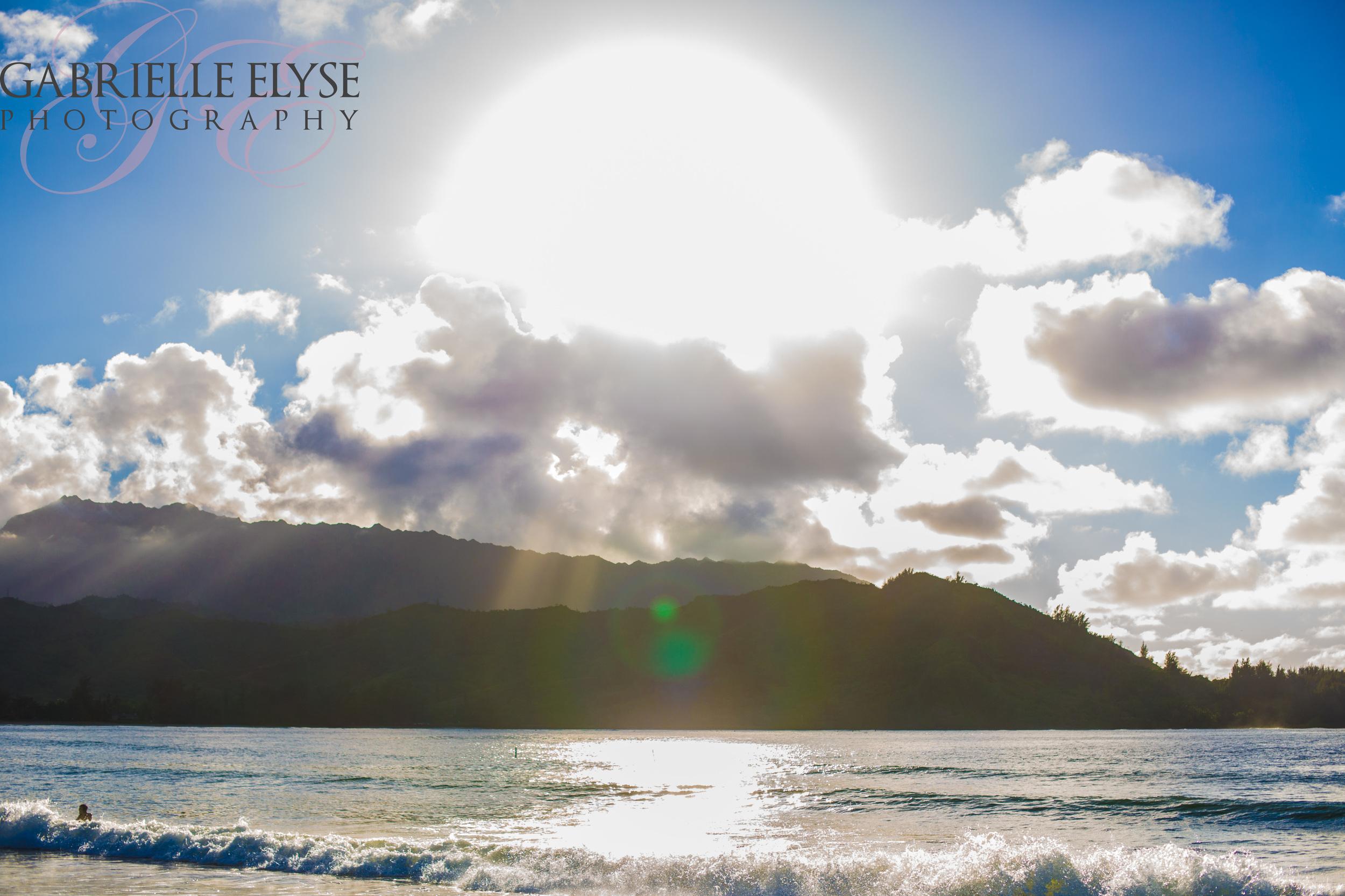Hanalei Bay Sun