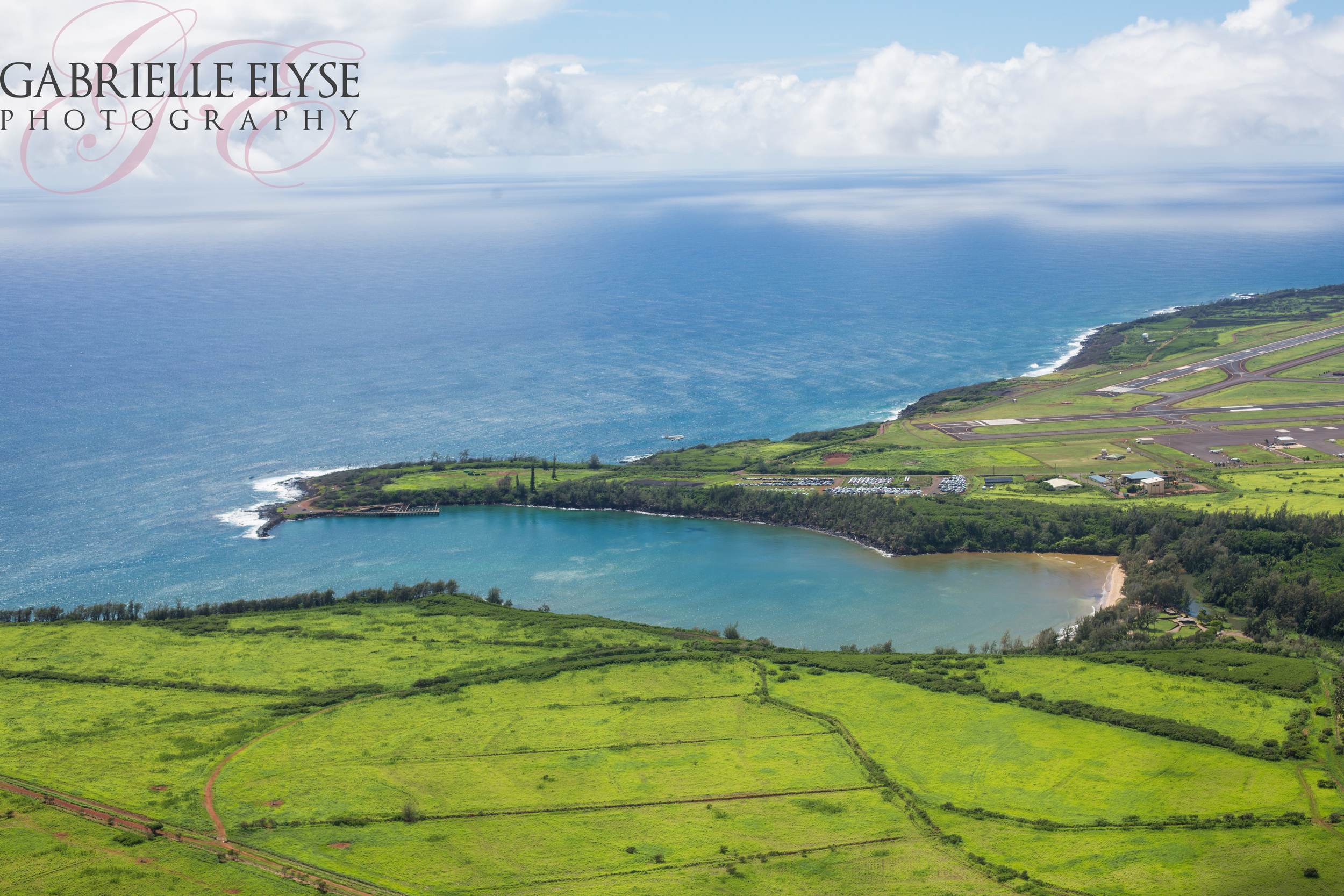 Coming in back to Lihue Airport from the helicopter tour