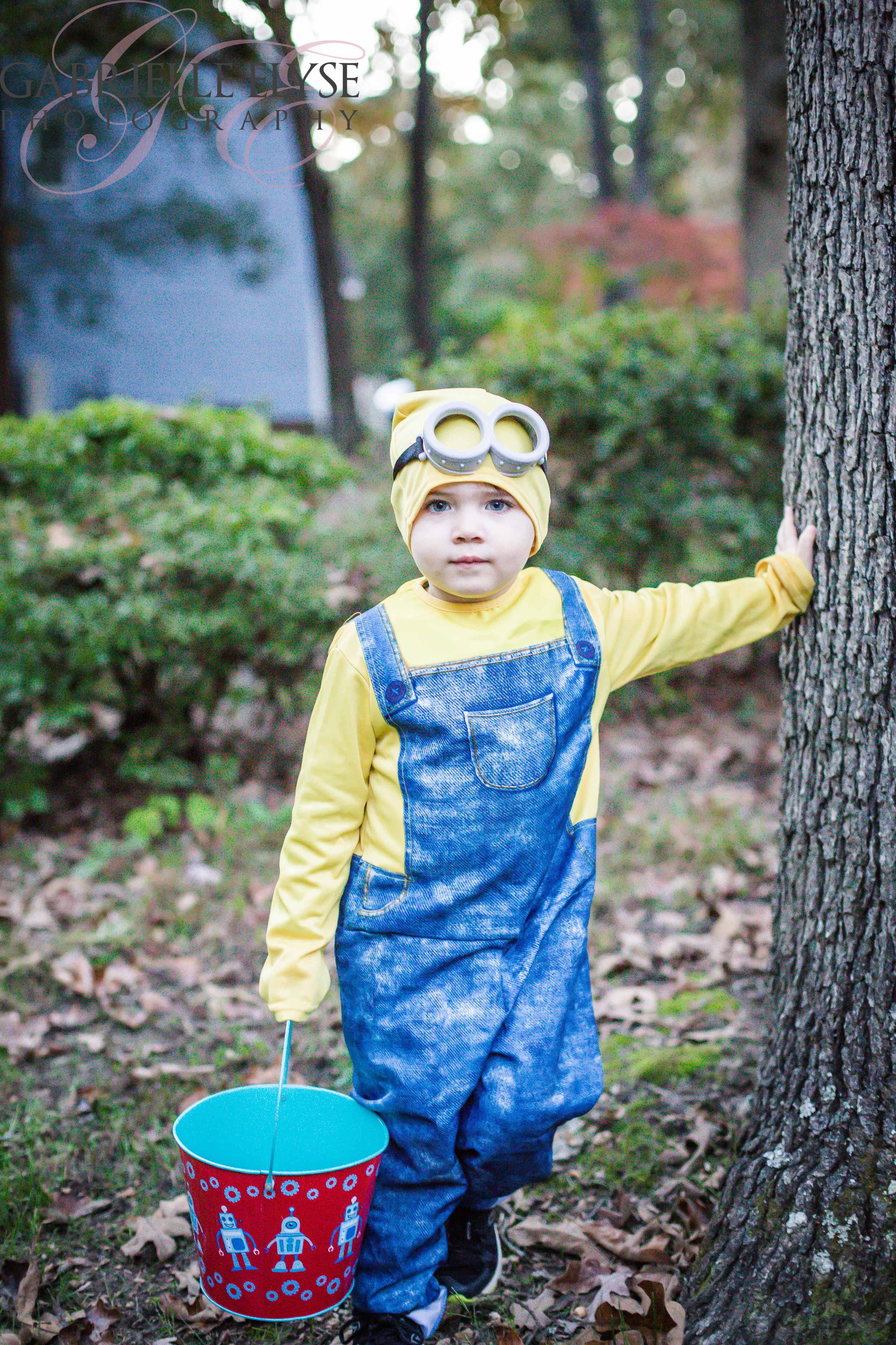 He is such a ham.  Cutest.minion.ever!