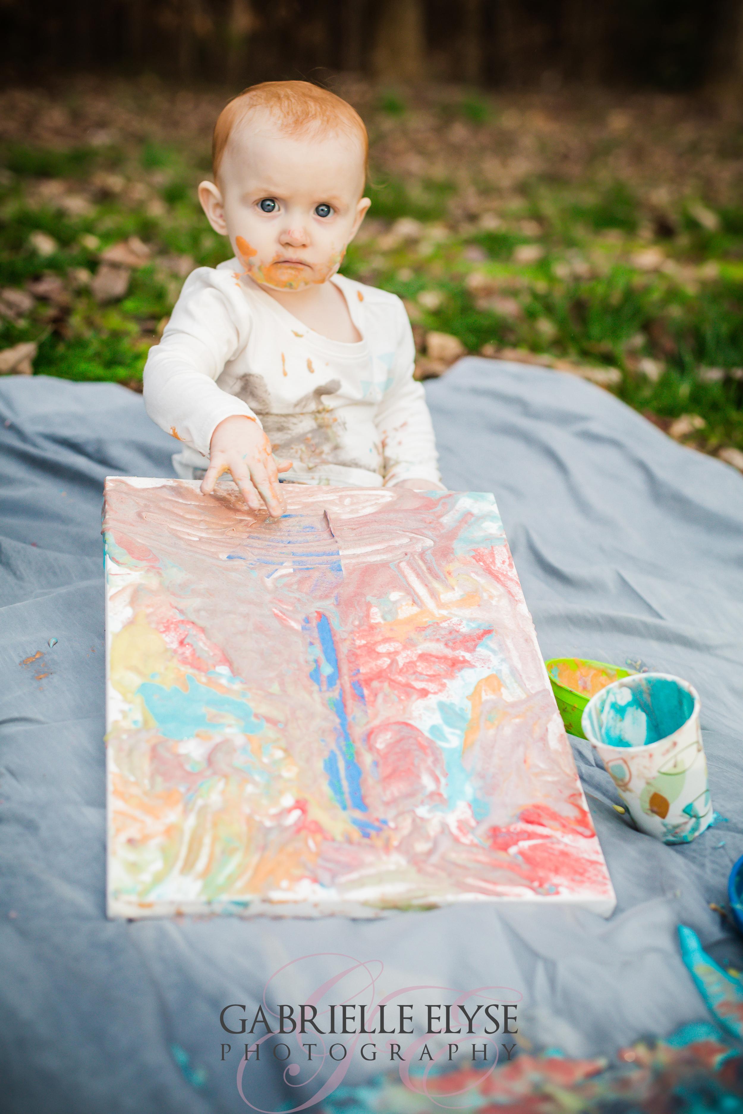 birthday paint