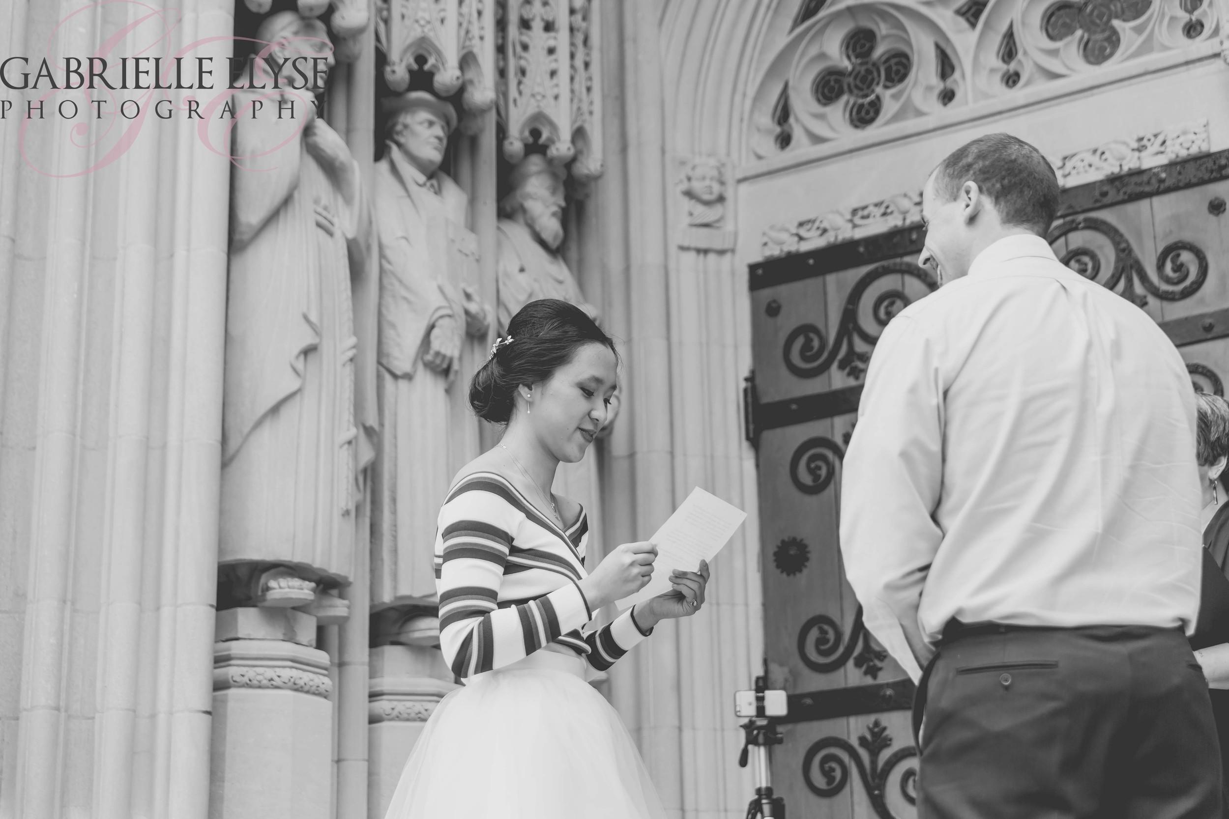 wedding vows duke chapel