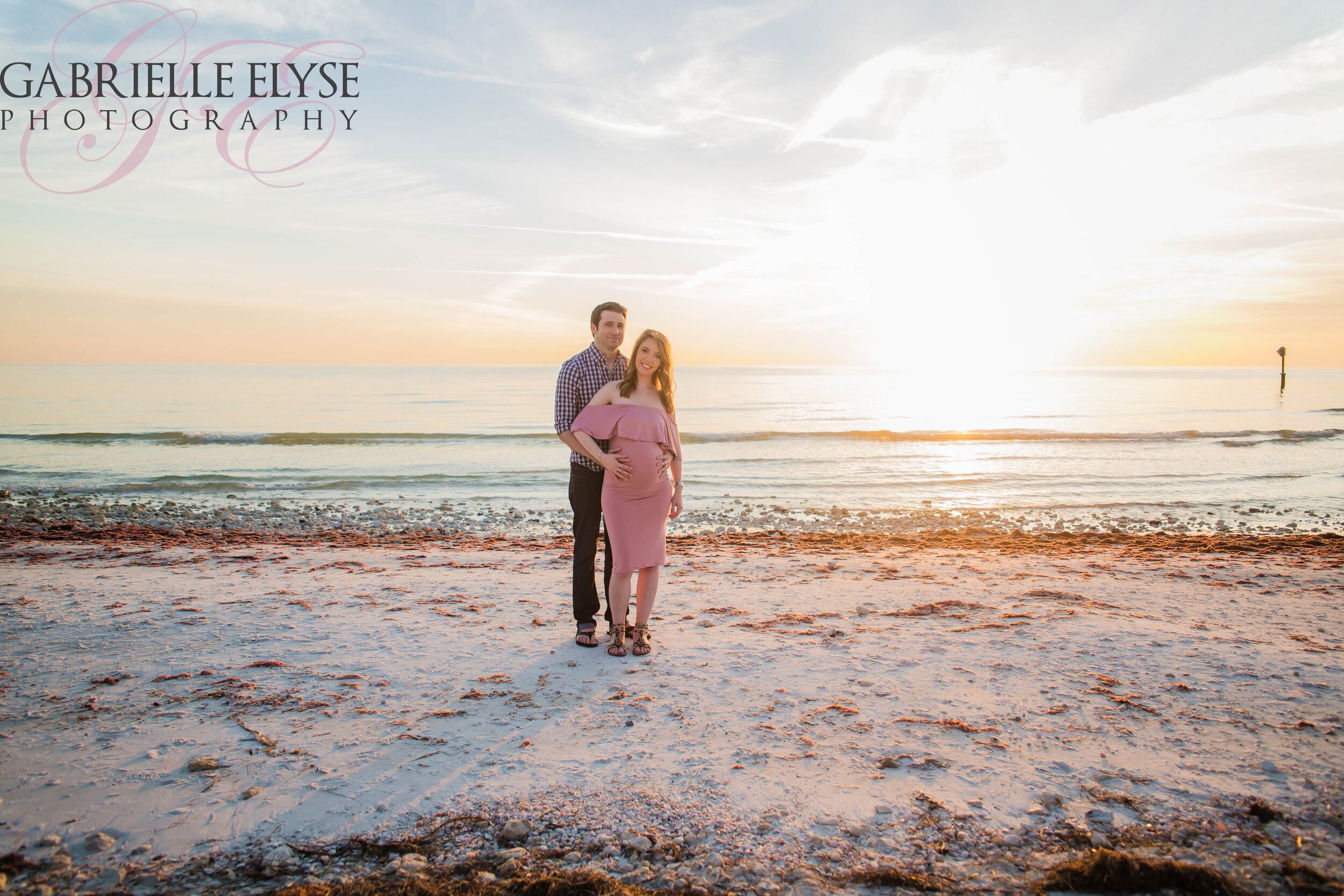 Dunedin Maternity Beach session