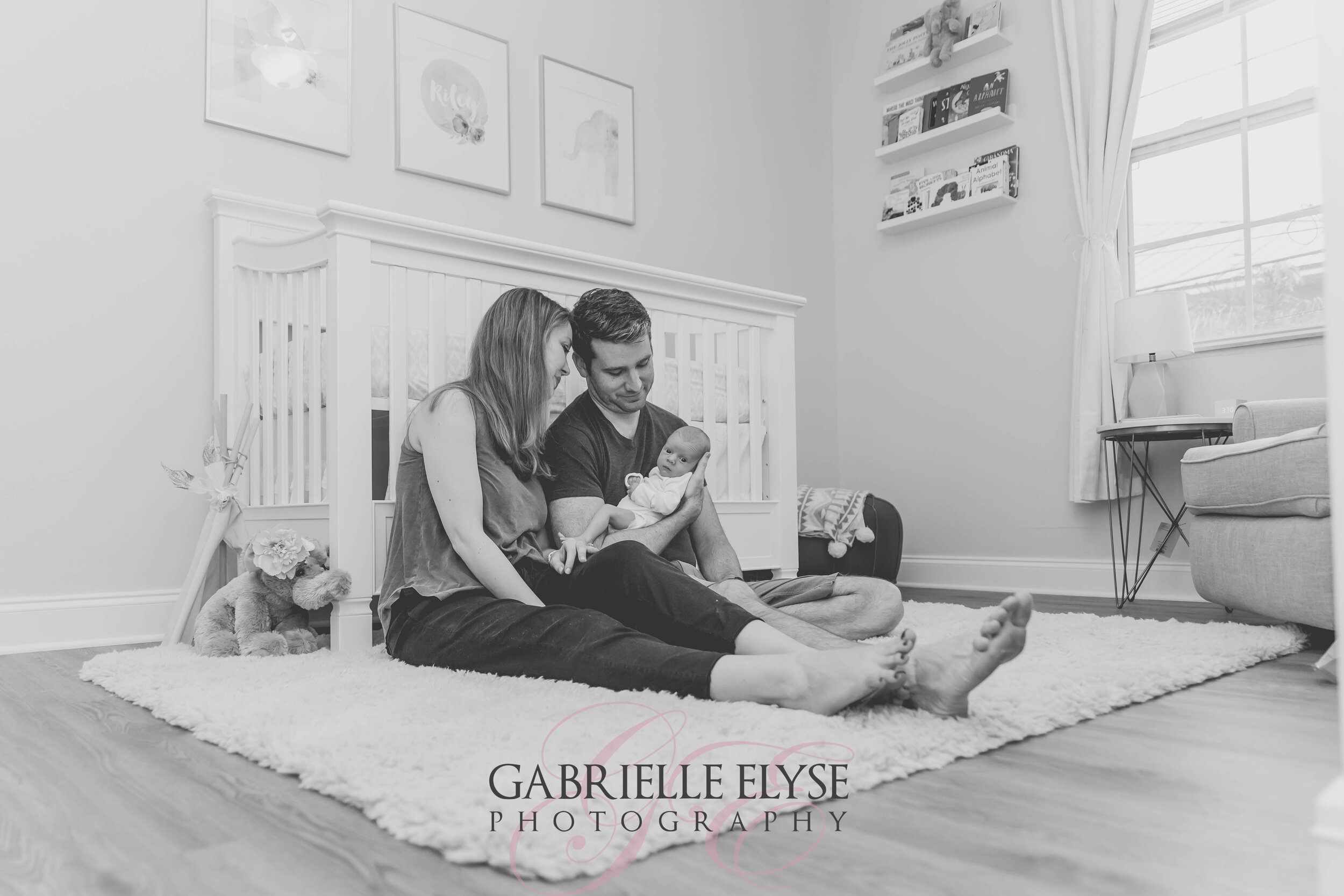 Gabrielle Elyse Newborn session