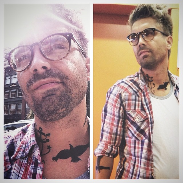 "FAKE TATOOS FOR A ""HIPSTER"" AUDITION IN A FEATURE FILM"