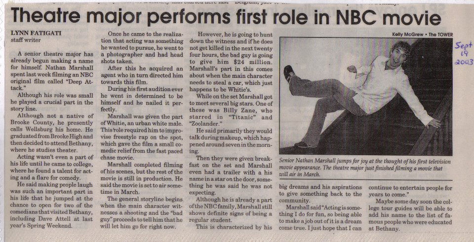 MORE PRESS ABOUT MY ROLE IN BET YOUR LIFE