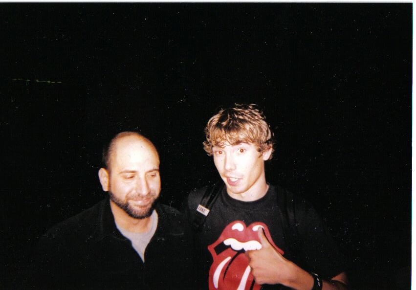 A PICTURE AFTER I OPENED FOR COMEDIAN DAVE ATTELL
