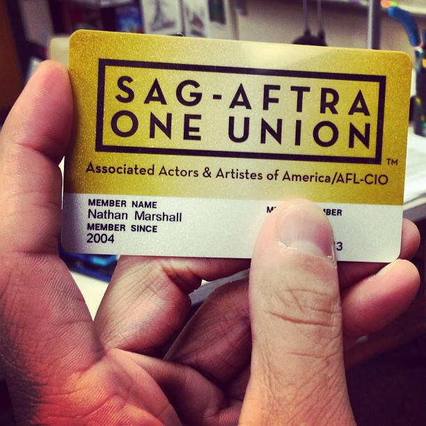 PROUD MEMBER OF THE SCREEN ACTOR'S GUILD SINCE 2004