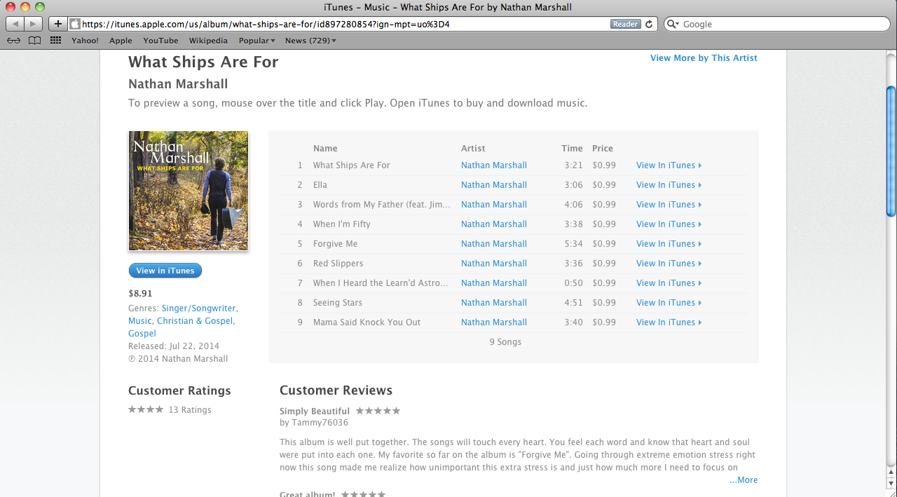 YOU CAN BUY WHAT SHIPS ARE FOR ON ITUNES  HERE OR ON AMAZON  HERE