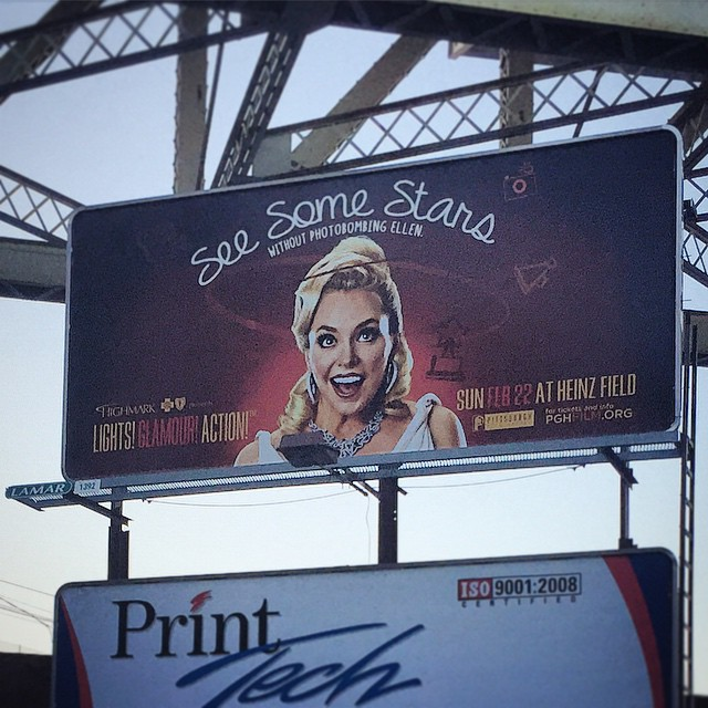 BILLBOARD #1 ON THE STREETS OF PITTSBURGH, PA