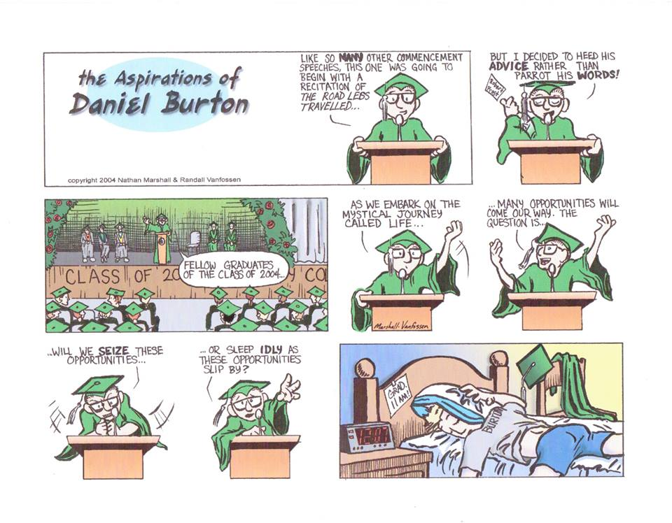 OUR FIRST ASPIRATIONS OF DANIEL BURTON. AS YOU WILL SEE WE GET BETTER AS TIME GOES ON.