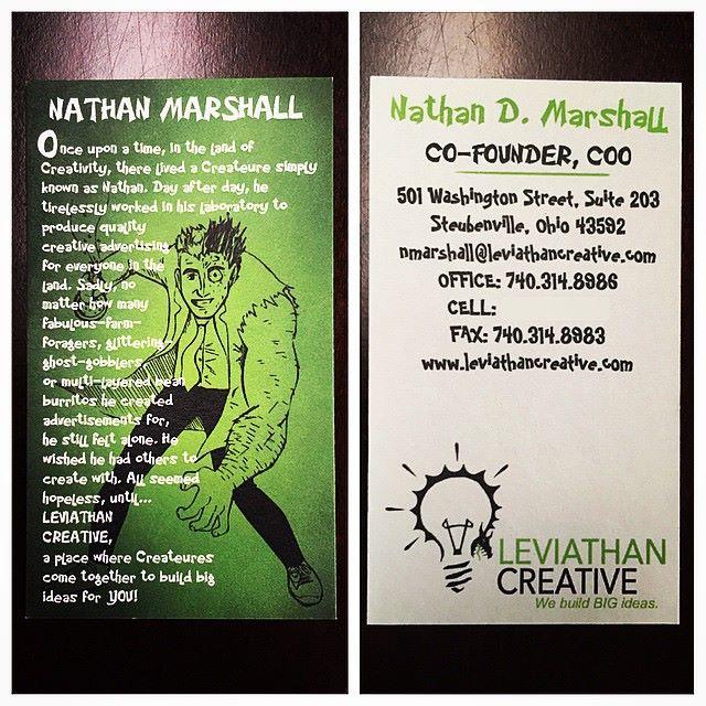 LEVIATHAN CREATIVE BUSINESS CARD