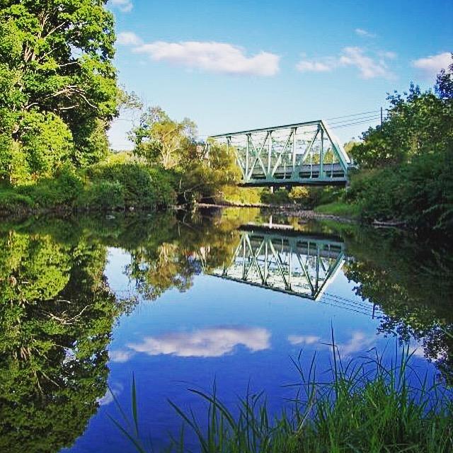The area surrounding Cassleman's Bridge in Grantsville, Maryland.