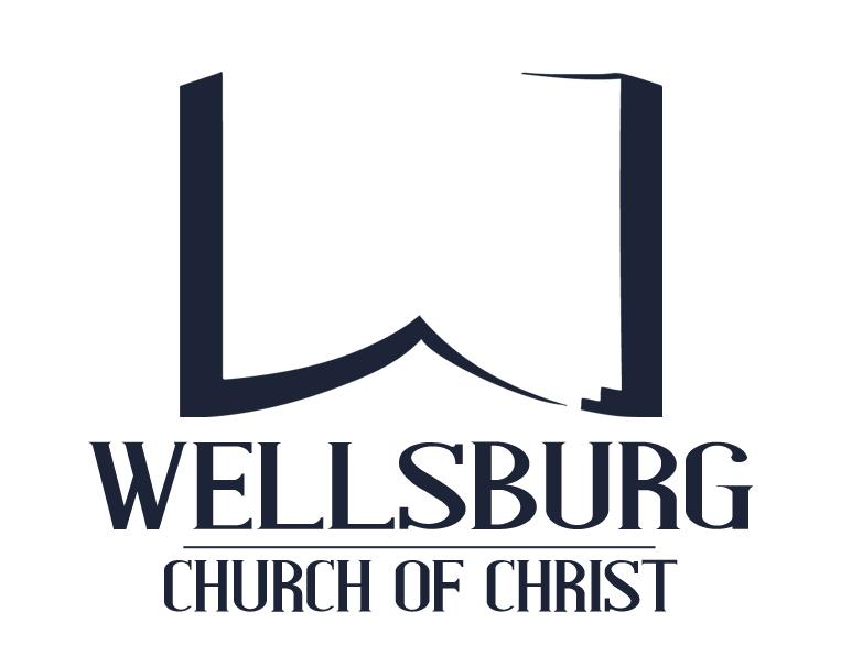 WELLSBURG CHURCH OF CHRIST LOGO (INVERTED)