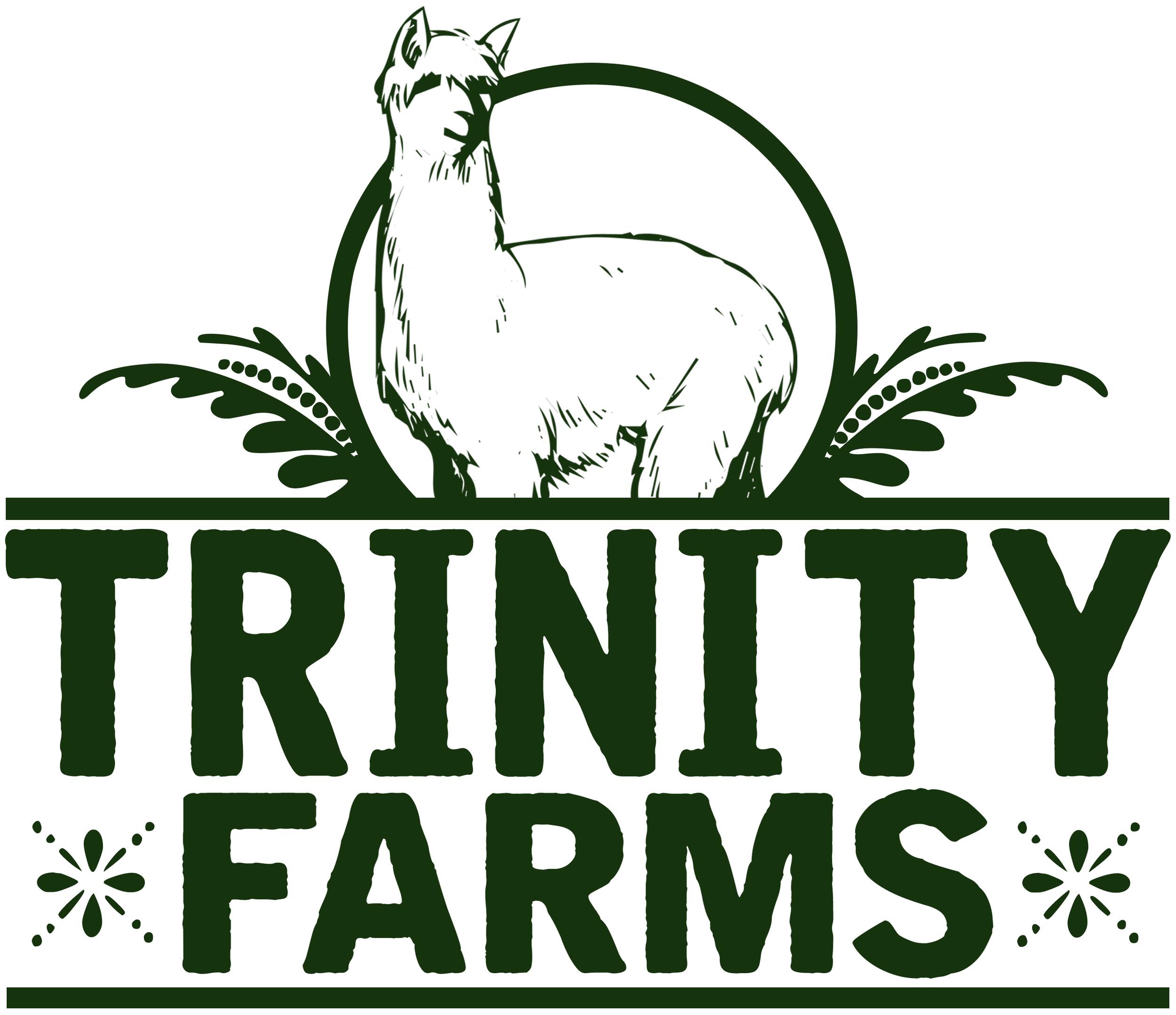 TRINITY FARMS ALPACAS LOGO