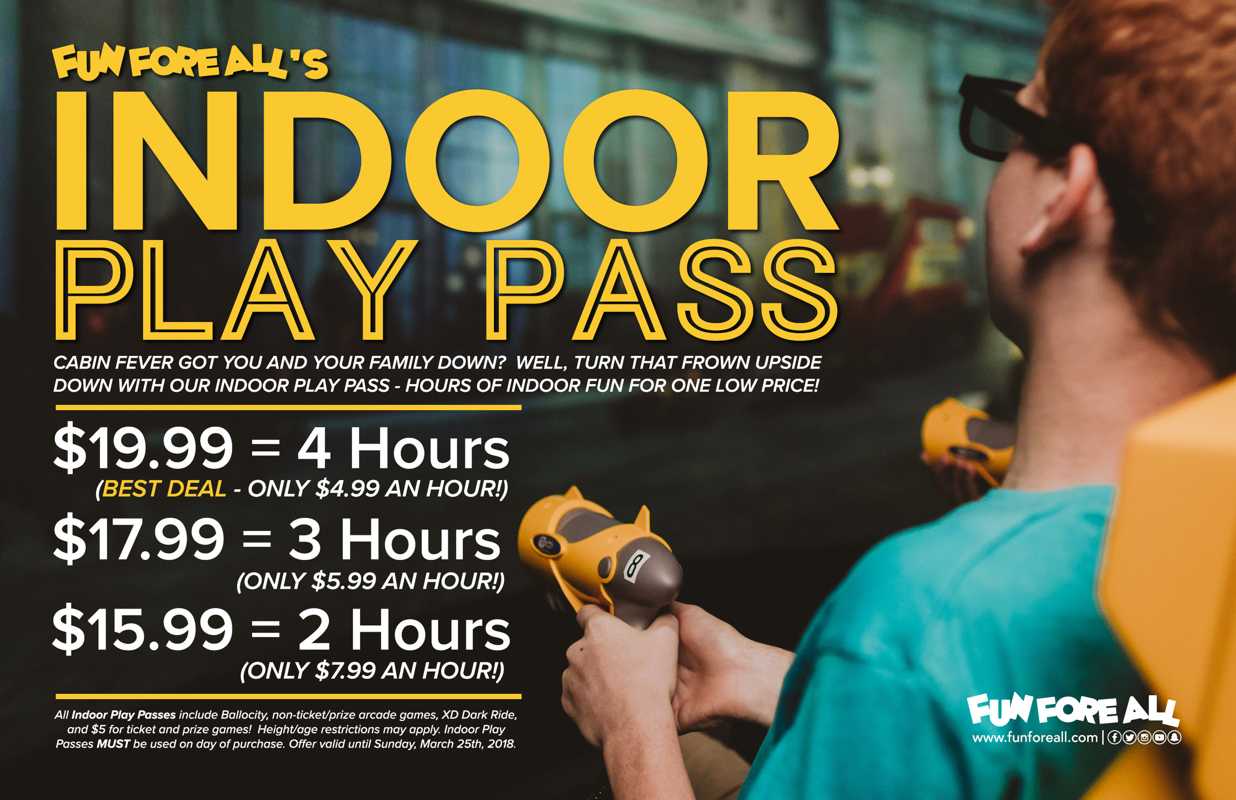 INDOOR PLAY PASS FLYER