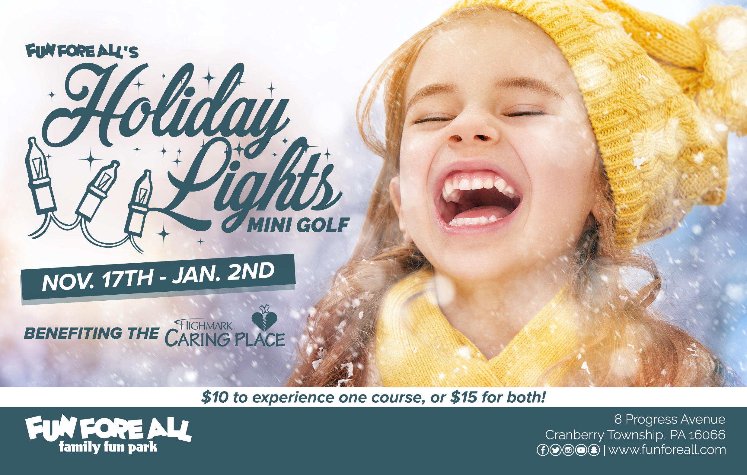 HOLIDAY LIGHTS FLYER