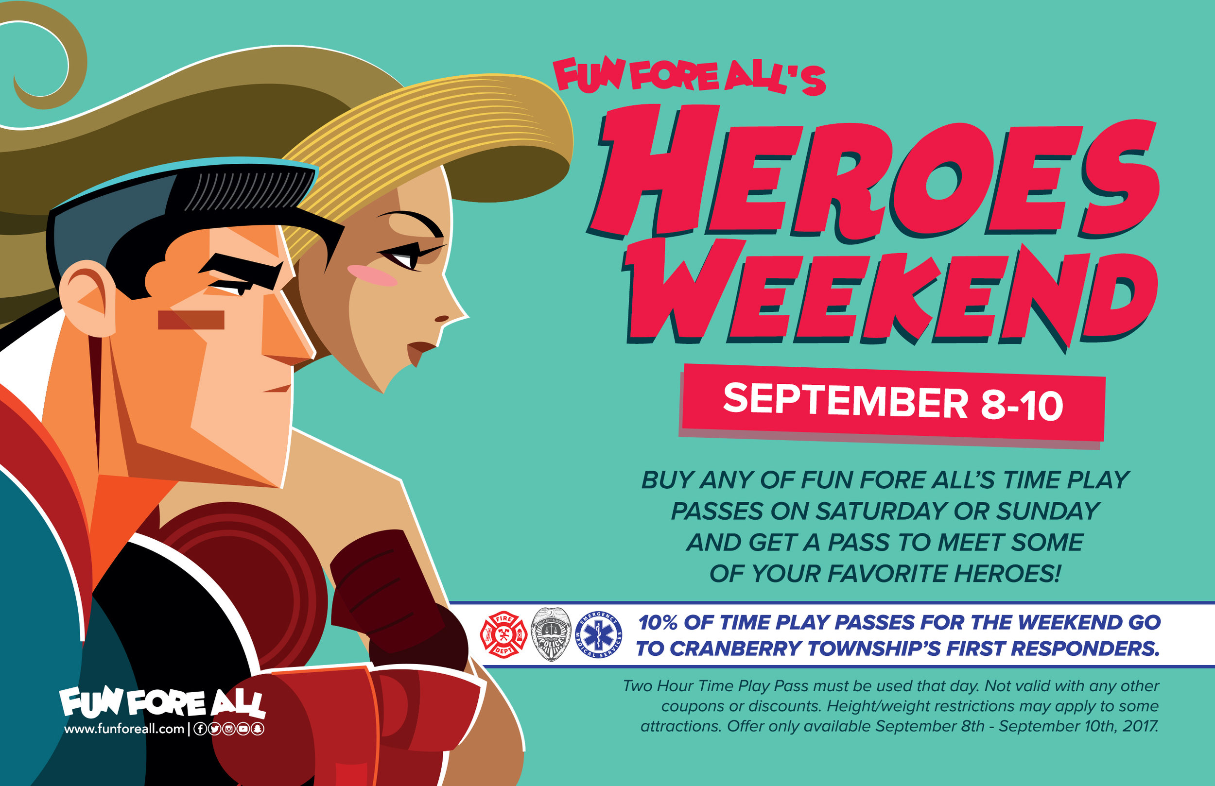 HEROES WEEKEND FLYER