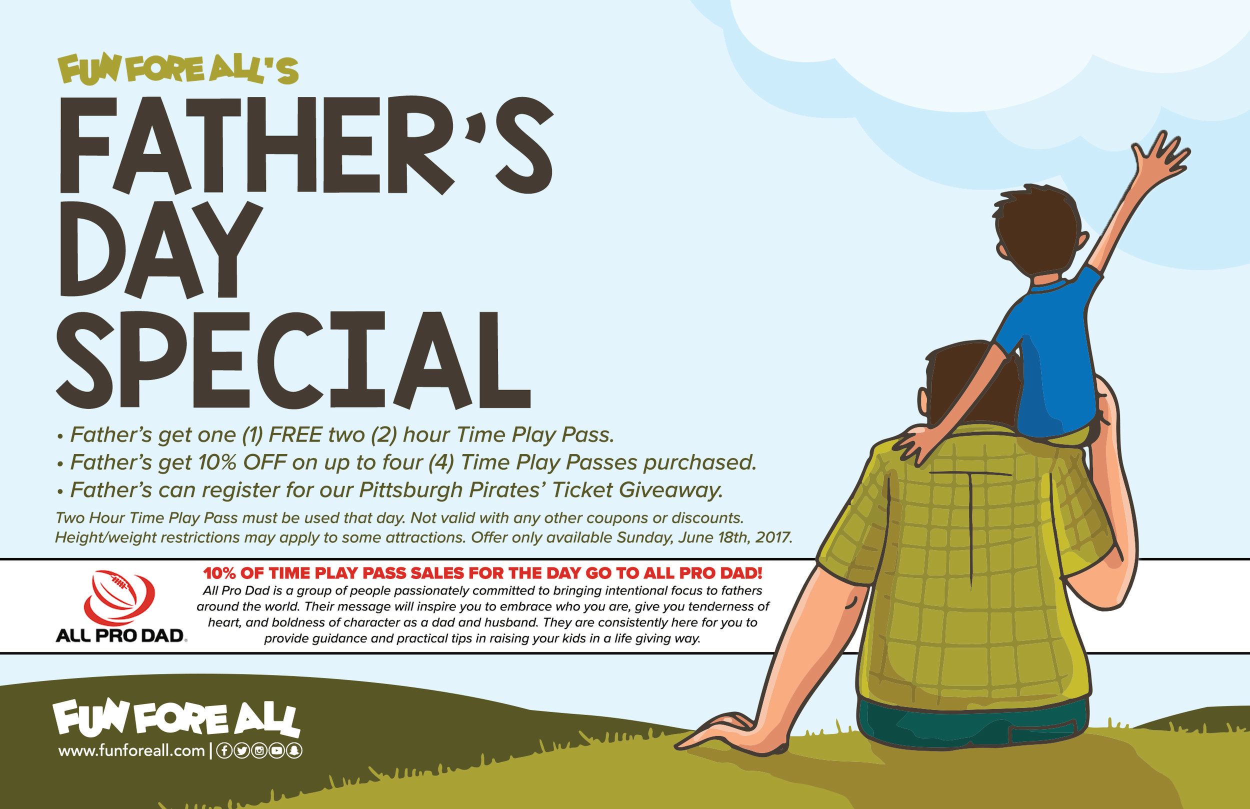 FATHER'S DAY SPECIAL FLYER