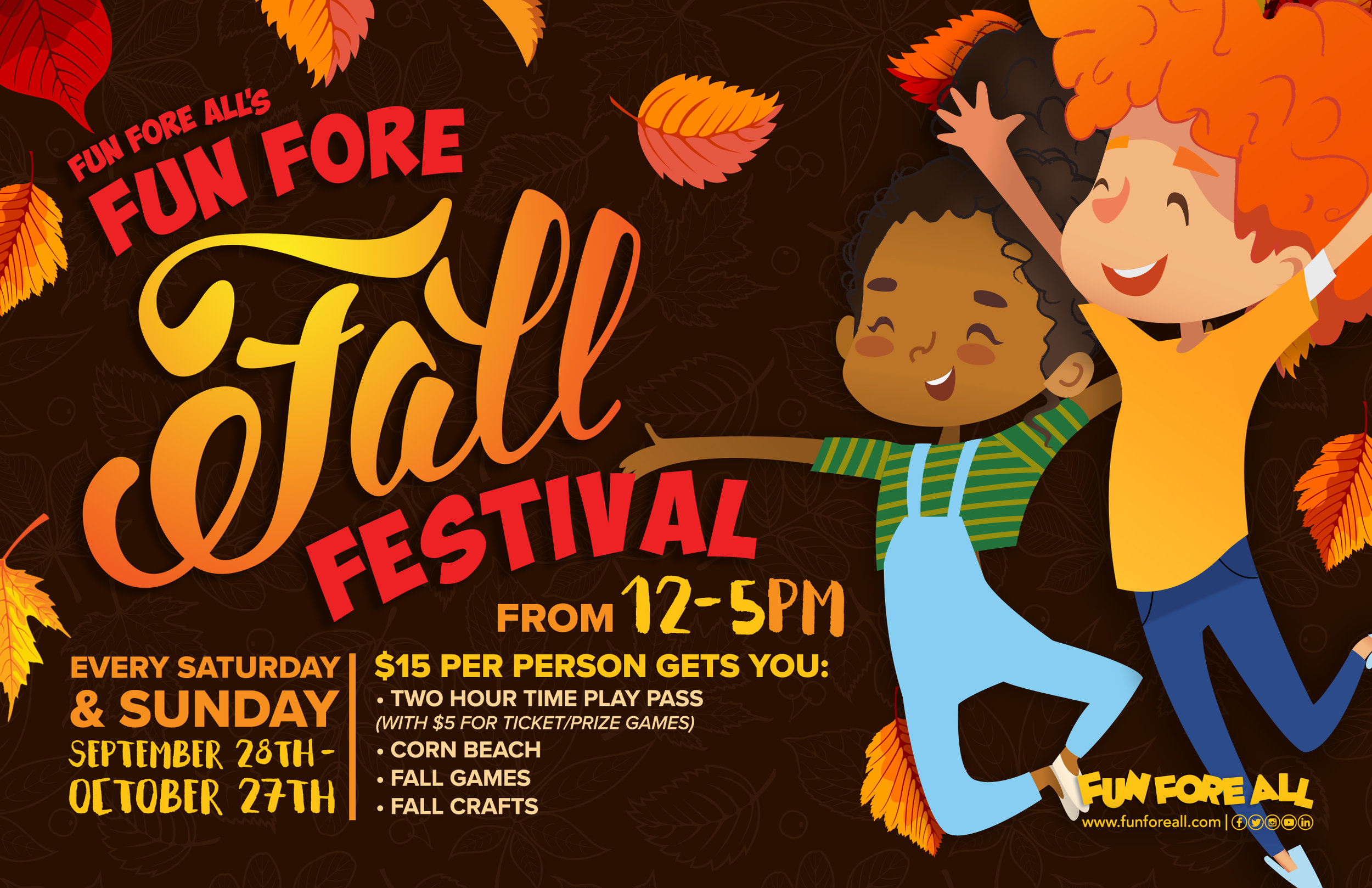 FUN FORE FALL FESTIVAL FLYER (2019)
