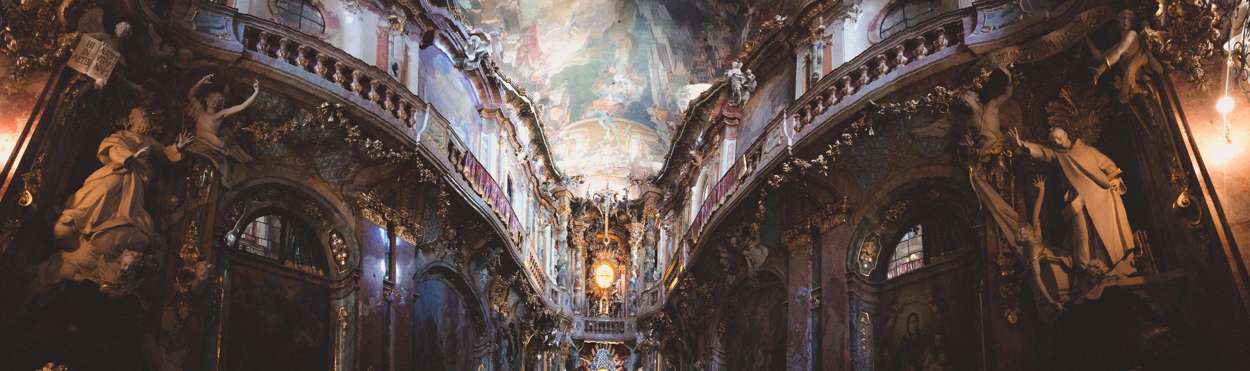 ASAM CHURCH IN MUNICH, GERMANY