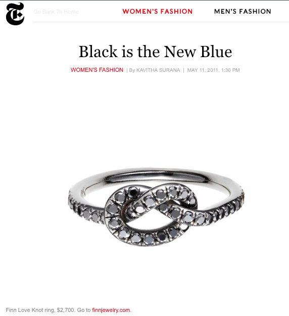 Finn Jewelry | New York Times Magazine