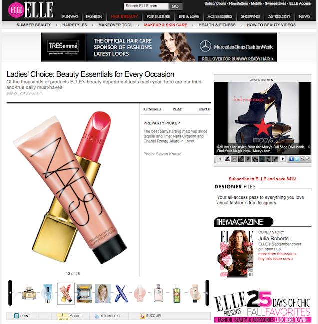 Elle.com | Elle Beauty