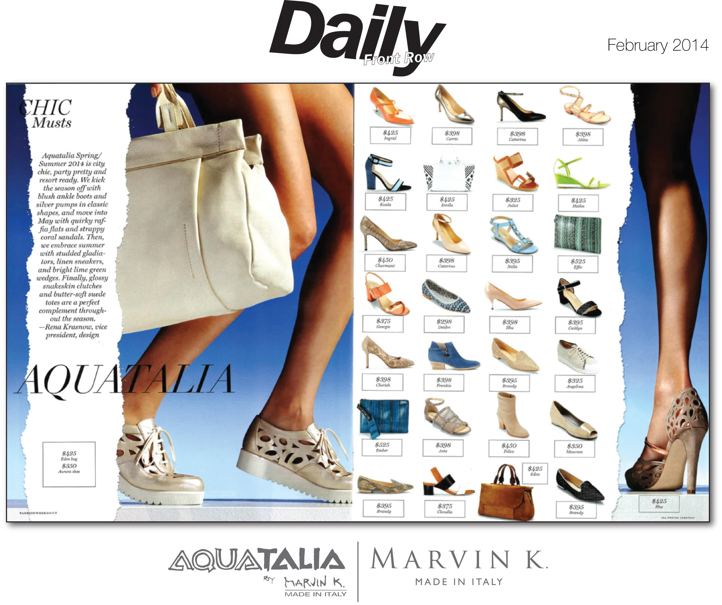 Aquatalia by Marvin K | Daily Front Row