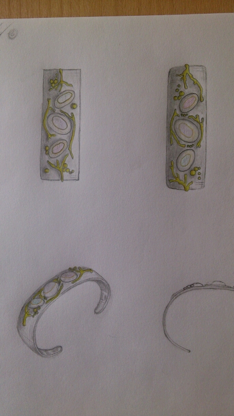 commision jewellery renderings